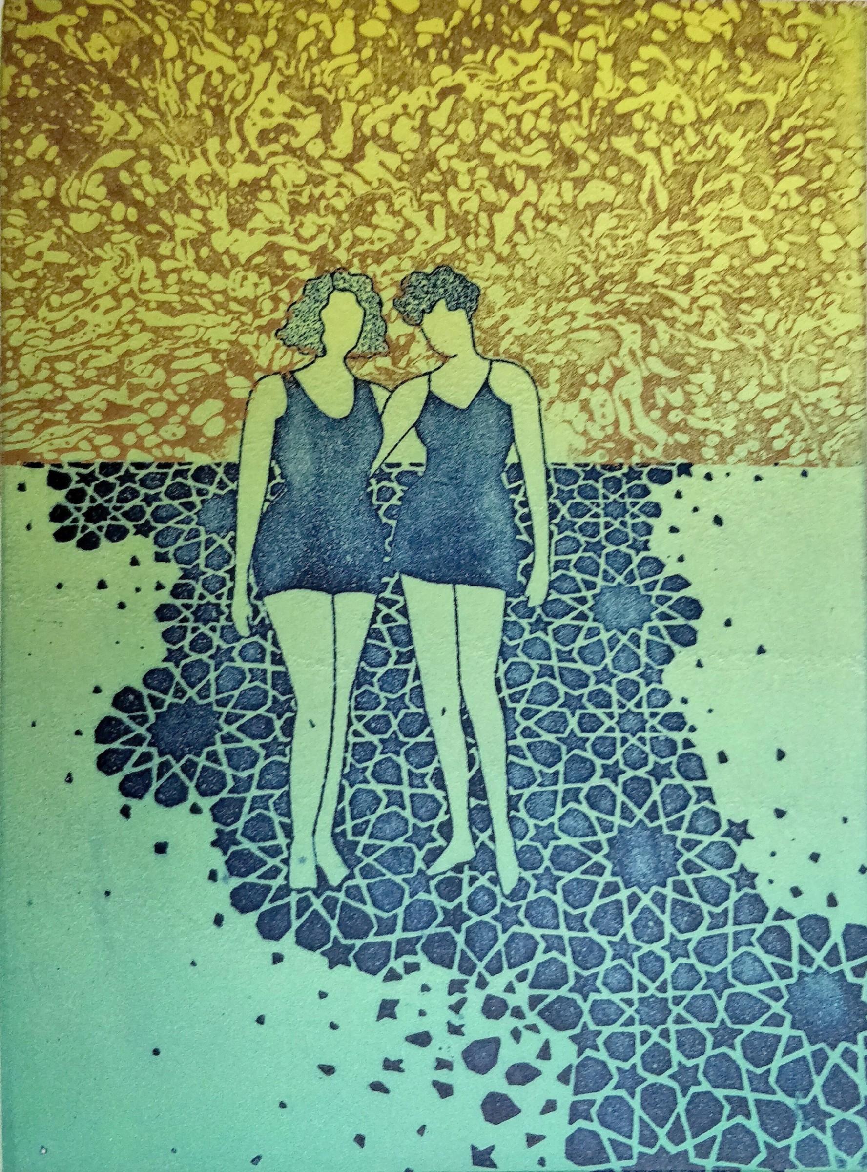 "<span class=""link fancybox-details-link""><a href=""/artists/212-giulia-zaniol-re/works/11339/"">View Detail Page</a></span><div class=""artist""><span class=""artist""><strong>Giulia Zaniol RE</strong></span></div><div class=""title""><em>Lido Sisters, Vanishing Memories</em></div><div class=""medium"">etching</div><div class=""dimensions"">20.5 x 15.4 cm</div><div class=""edition_details"">edition of 6</div><div class=""price"">£385.00 unframed</div>"