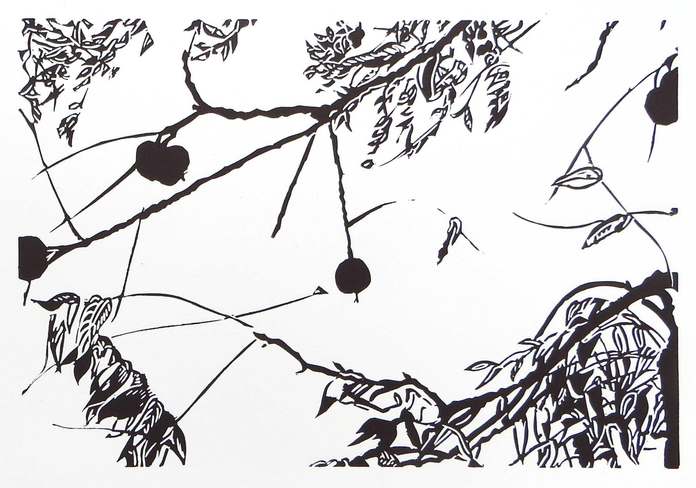 "<span class=""link fancybox-details-link""><a href=""/artists/97-sasa-marinkov-re/works/11287/"">View Detail Page</a></span><div class=""artist""><span class=""artist""><strong>Sasa Marinkov RE</strong></span></div><div class=""title""><em>The Walnut Tree</em></div><div class=""medium"">linocut</div><div class=""dimensions"">26 x 35.5 cm paper size<br /> 20 x 29.5 cm image size</div><div class=""edition_details"">edition of 30</div><div class=""price"">£175.00 unframed</div>"