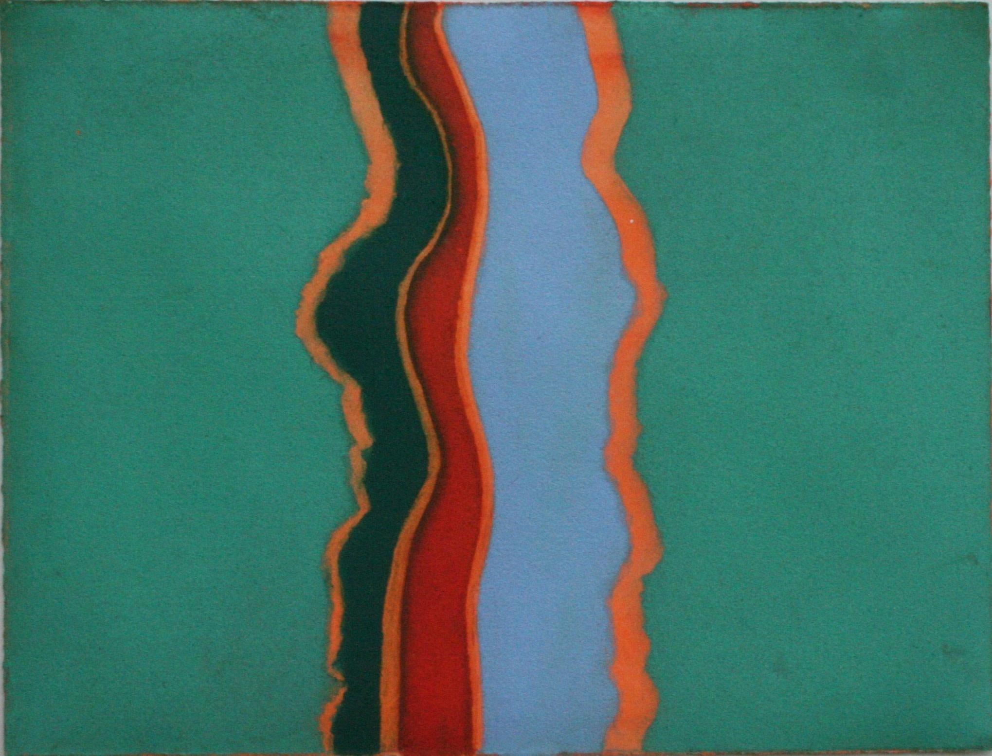 "<span class=""link fancybox-details-link""><a href=""/exhibitions/20/works/artworks_standalone10826/"">View Detail Page</a></span><div class=""artist""><span class=""artist""><strong>Ursula Leach RE</strong></span></div><div class=""title""><em>Crossing</em></div><div class=""medium"">carborundum and hand colouring<br></div><div class=""dimensions"">23 x 31 cm image size<br></div><div class=""edition_details"">edition of 7</div>"