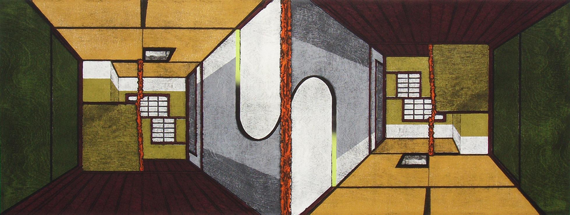 <span class=&#34;link fancybox-details-link&#34;><a href=&#34;/artists/114-nana-shiomi-re/works/9517/&#34;>View Detail Page</a></span><div class=&#34;artist&#34;><span class=&#34;artist&#34;><strong>Nana Shiomi RE</strong></span></div><div class=&#34;title&#34;><em>Reverse Universe - Chashitsu</em></div><div class=&#34;medium&#34;>woodcut</div>