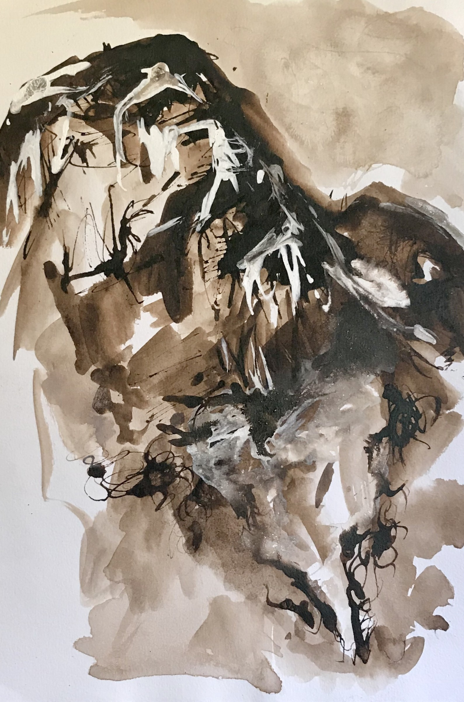 """<span class=""""link fancybox-details-link""""><a href=""""/exhibitions/22/works/artworks_standalone11114/"""">View Detail Page</a></span><div class=""""artist""""><span class=""""artist""""><strong>Jackie Newell RE</strong></span></div><div class=""""title""""><em>Le Cochet</em></div><div class=""""medium"""">mixed media and acrylic painting</div><div class=""""dimensions"""">43 x 33 cm framed<br>30 x 21 cm image size</div>"""