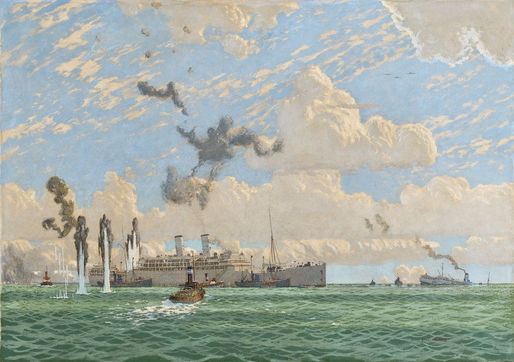 charles pears psma roi the evacuation of st nazaire 17th june 1940 maritime and war. Black Bedroom Furniture Sets. Home Design Ideas