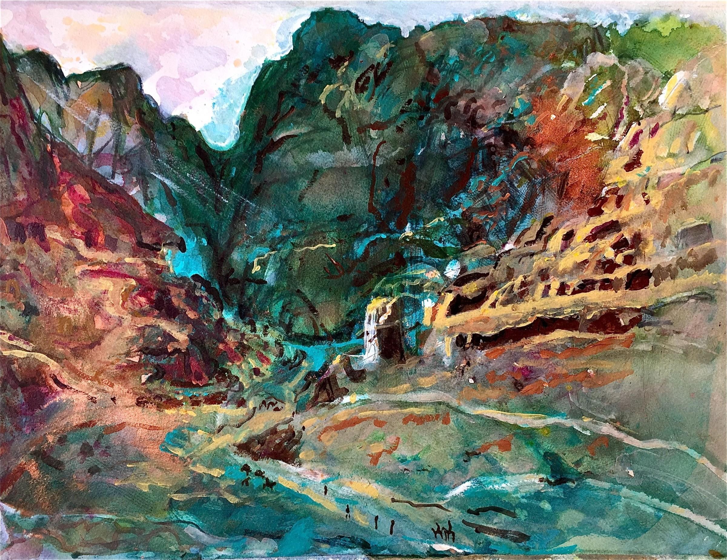 <span class=&#34;link fancybox-details-link&#34;><a href=&#34;/exhibitions/16/works/image_standalone386/&#34;>View Detail Page</a></span><p>Alex Hirztel,&#160;<em>Petra, Looking Across</em>, &#163;400</p>