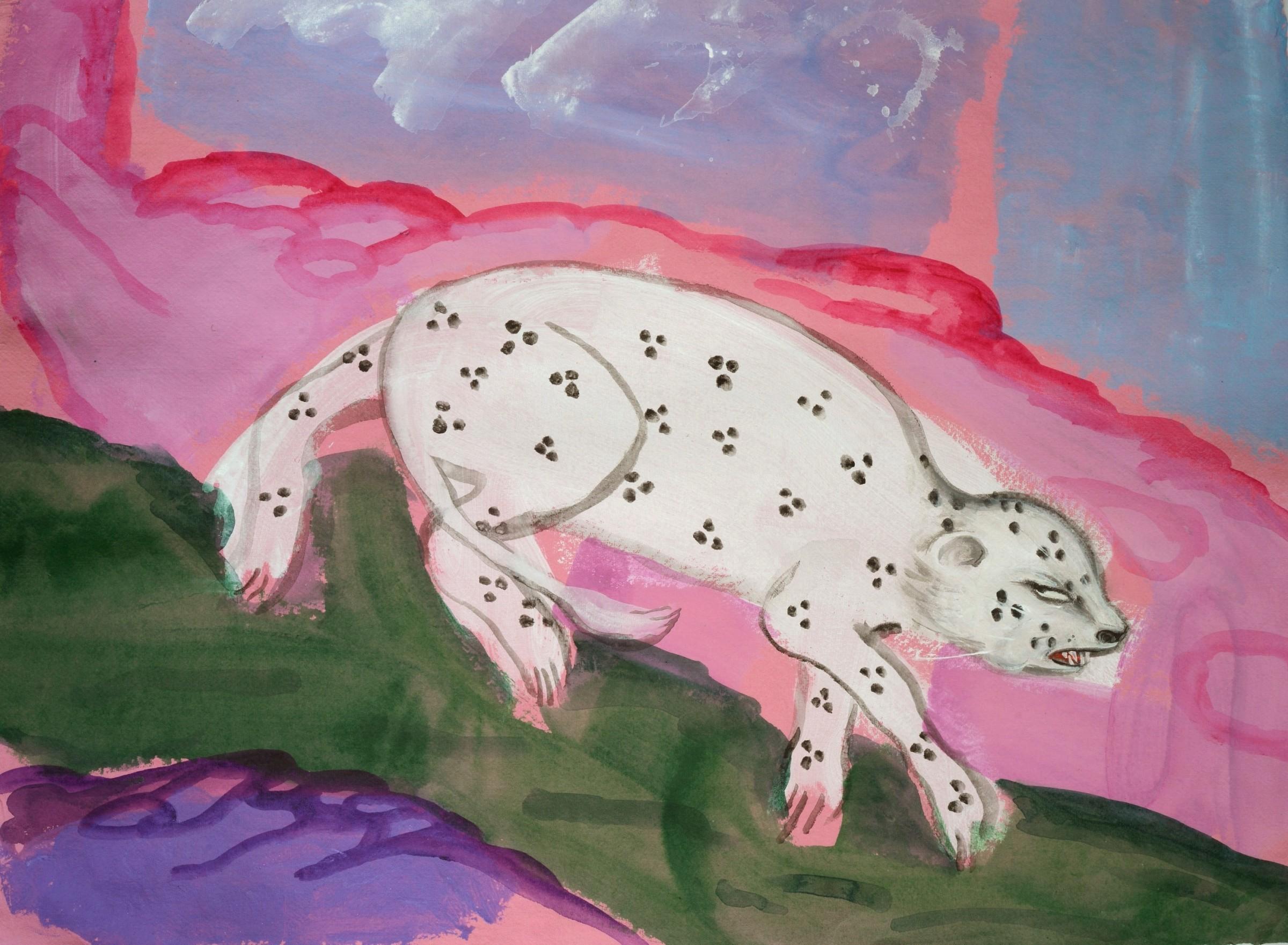 <span class=&#34;link fancybox-details-link&#34;><a href=&#34;/exhibitions/16/works/image_standalone331/&#34;>View Detail Page</a></span><p>Debbie Lee,&#160;<em>Snow Leopard,</em>&#160;&#163;400</p>