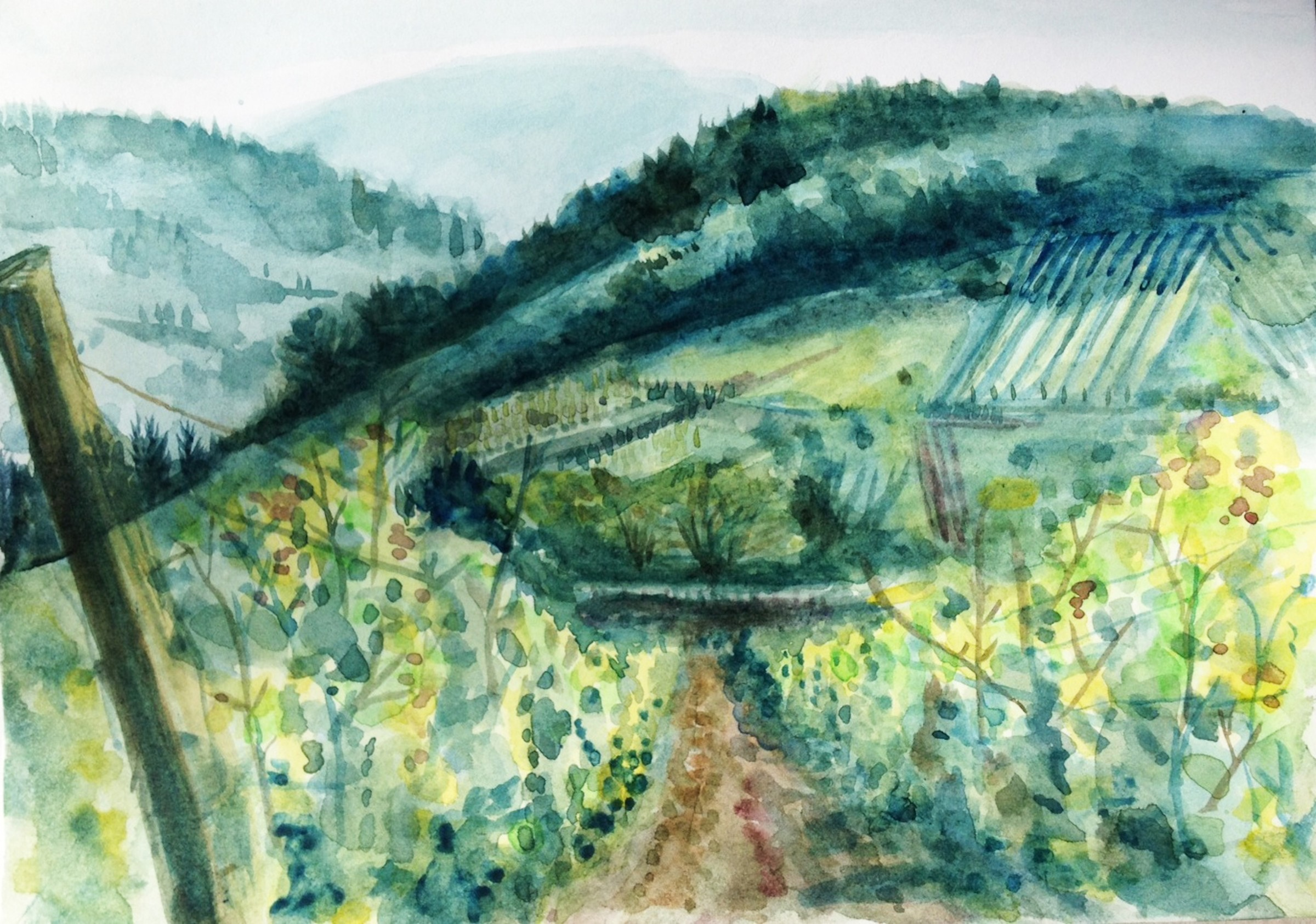 <span class=&#34;link fancybox-details-link&#34;><a href=&#34;/exhibitions/16/works/image_standalone340/&#34;>View Detail Page</a></span><p>Florence Boyd Williams,&#160;<em>Vineyard when it's Cloudy</em>, &#163;250</p>