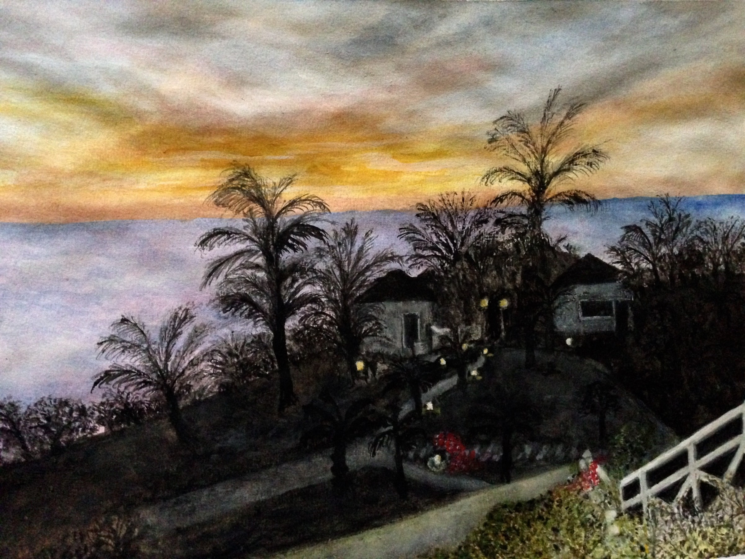 <span class=&#34;link fancybox-details-link&#34;><a href=&#34;/exhibitions/16/works/image_standalone358/&#34;>View Detail Page</a></span><p>Jo Smith,&#160;<em>Caribbean Evening</em>, &#163;320</p>