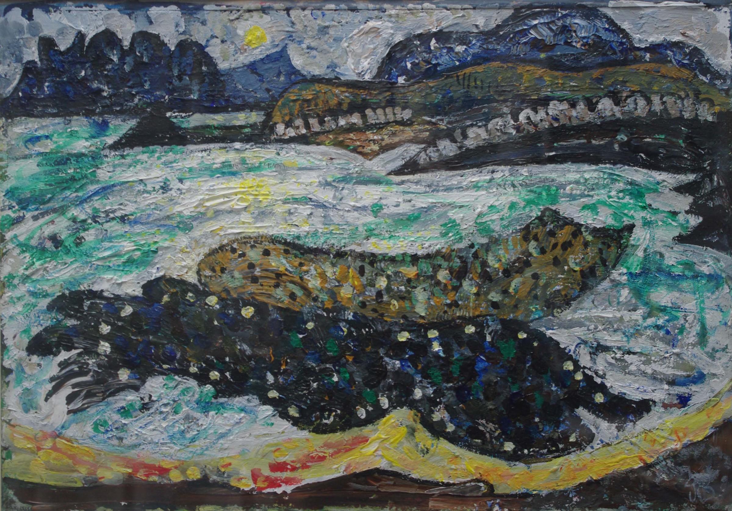 <span class=&#34;link fancybox-details-link&#34;><a href=&#34;/exhibitions/16/works/image_standalone361/&#34;>View Detail Page</a></span><p>John Roger Bradley,&#160;<em>East of Grimsay</em>, &#163;750</p>