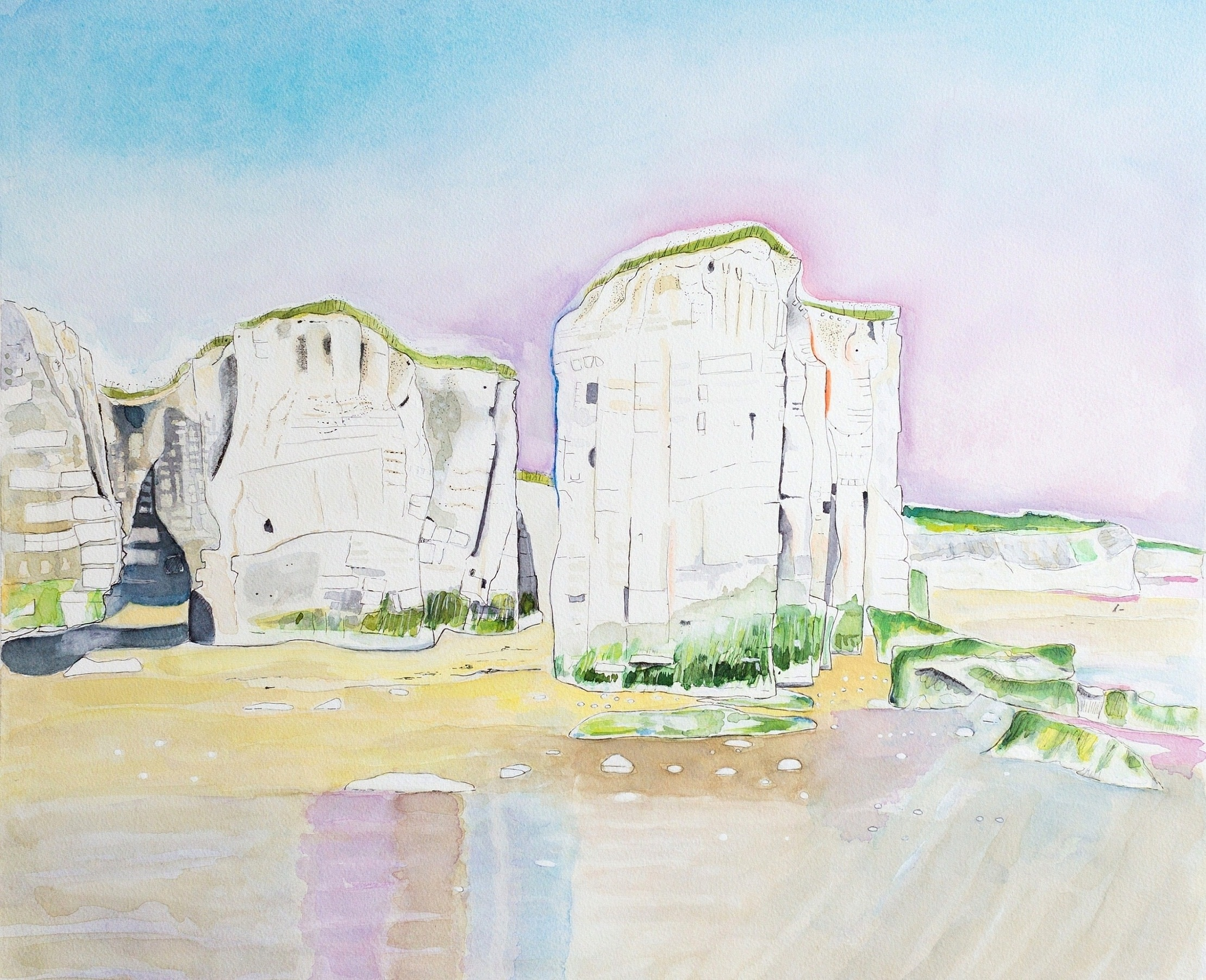 <span class=&#34;link fancybox-details-link&#34;><a href=&#34;/exhibitions/16/works/image_standalone373/&#34;>View Detail Page</a></span><p>Linda Douthwaite<em>, Botany Bay, Early Morning</em>, &#163;520</p>