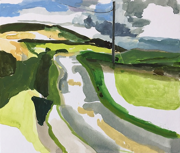 <span class=&#34;link fancybox-details-link&#34;><a href=&#34;/exhibitions/16/works/image_standalone384/&#34;>View Detail Page</a></span><p>Michelle Avison,&#160;<em>The Road, Saturday 15 August 2016</em>, &#163;775</p>