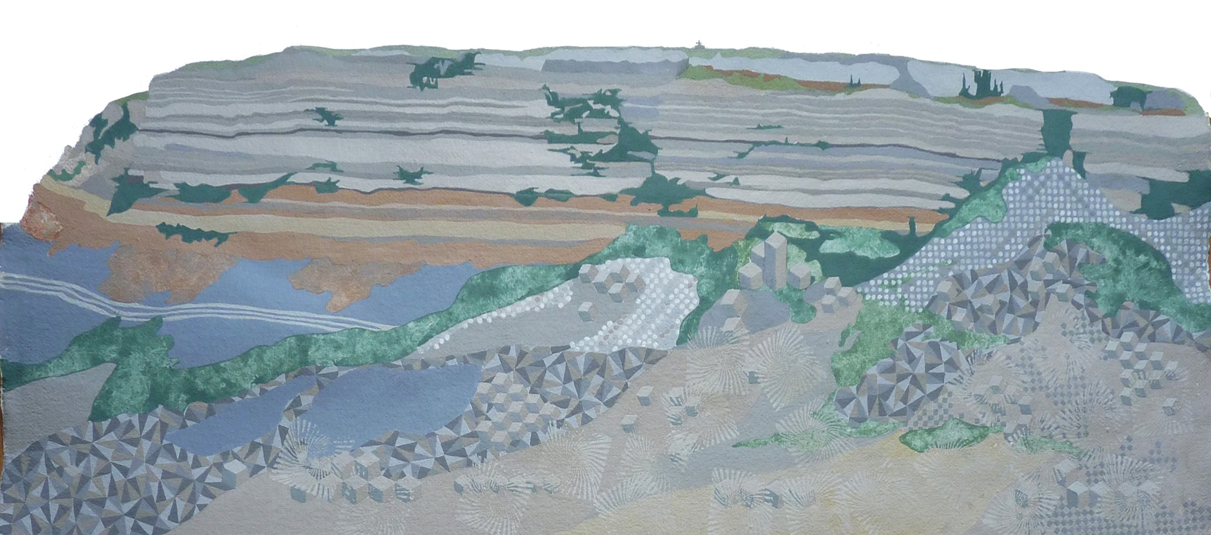 <span class=&#34;link fancybox-details-link&#34;><a href=&#34;/exhibitions/16/works/image_standalone399/&#34;>View Detail Page</a></span><p>Sally Maltby,&#160;<em>St Aldheims Head, Jurassic Coast</em>, &#163;900</p>