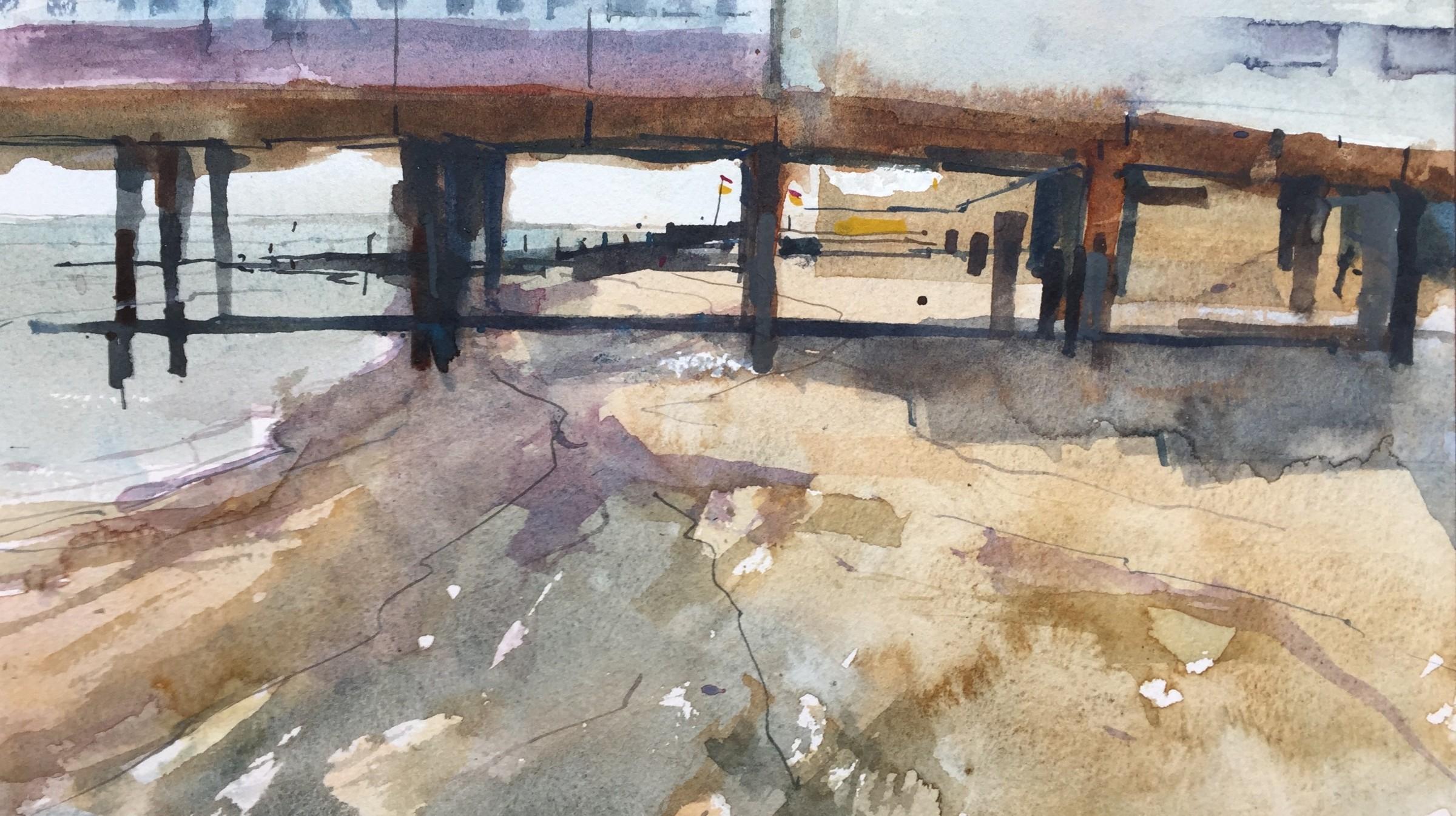 <span class=&#34;link fancybox-details-link&#34;><a href=&#34;/exhibitions/16/works/image_standalone404/&#34;>View Detail Page</a></span><p>Stanley John,&#160;<em>Under the Pier, Southwold</em>, &#163;600</p>