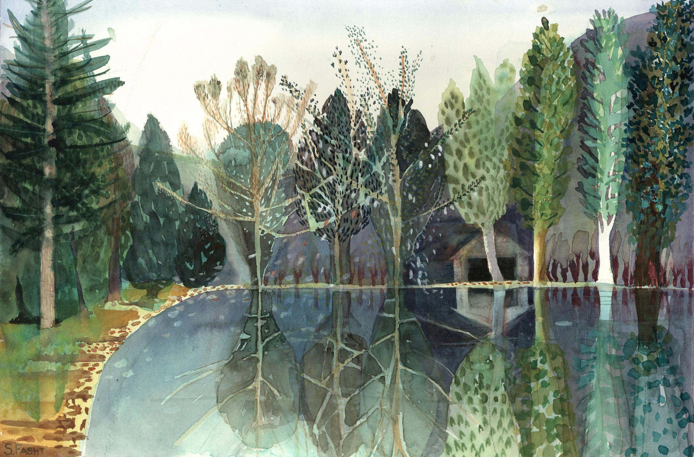 <span class=&#34;link fancybox-details-link&#34;><a href=&#34;/exhibitions/16/works/image_standalone407/&#34;>View Detail Page</a></span><p>Suzy Fascht,&#160;<em>The Boathouse</em>, &#163;550</p>