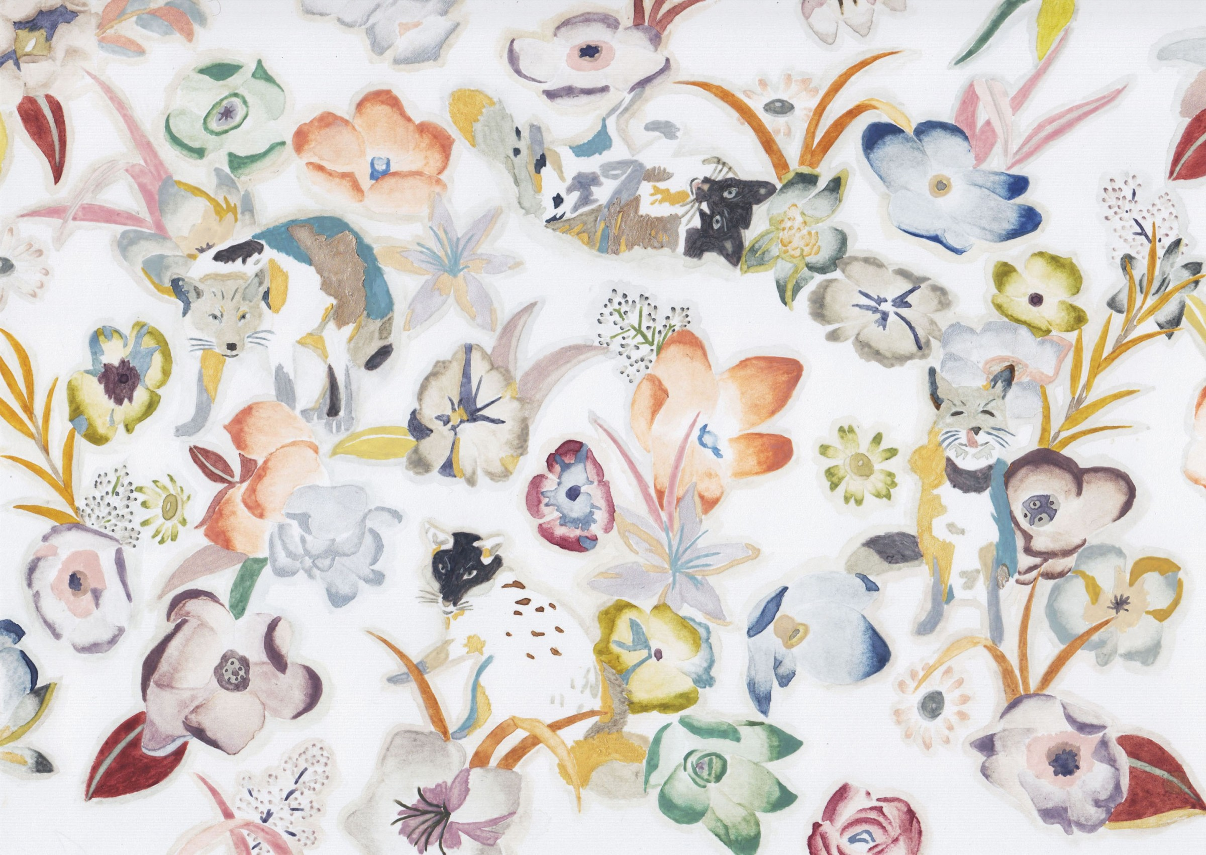<span class=&#34;link fancybox-details-link&#34;><a href=&#34;/exhibitions/16/works/image_standalone414/&#34;>View Detail Page</a></span><p>Yuki Sato,&#160;<em>Foxes and Flowers</em>, &#163;600</p>
