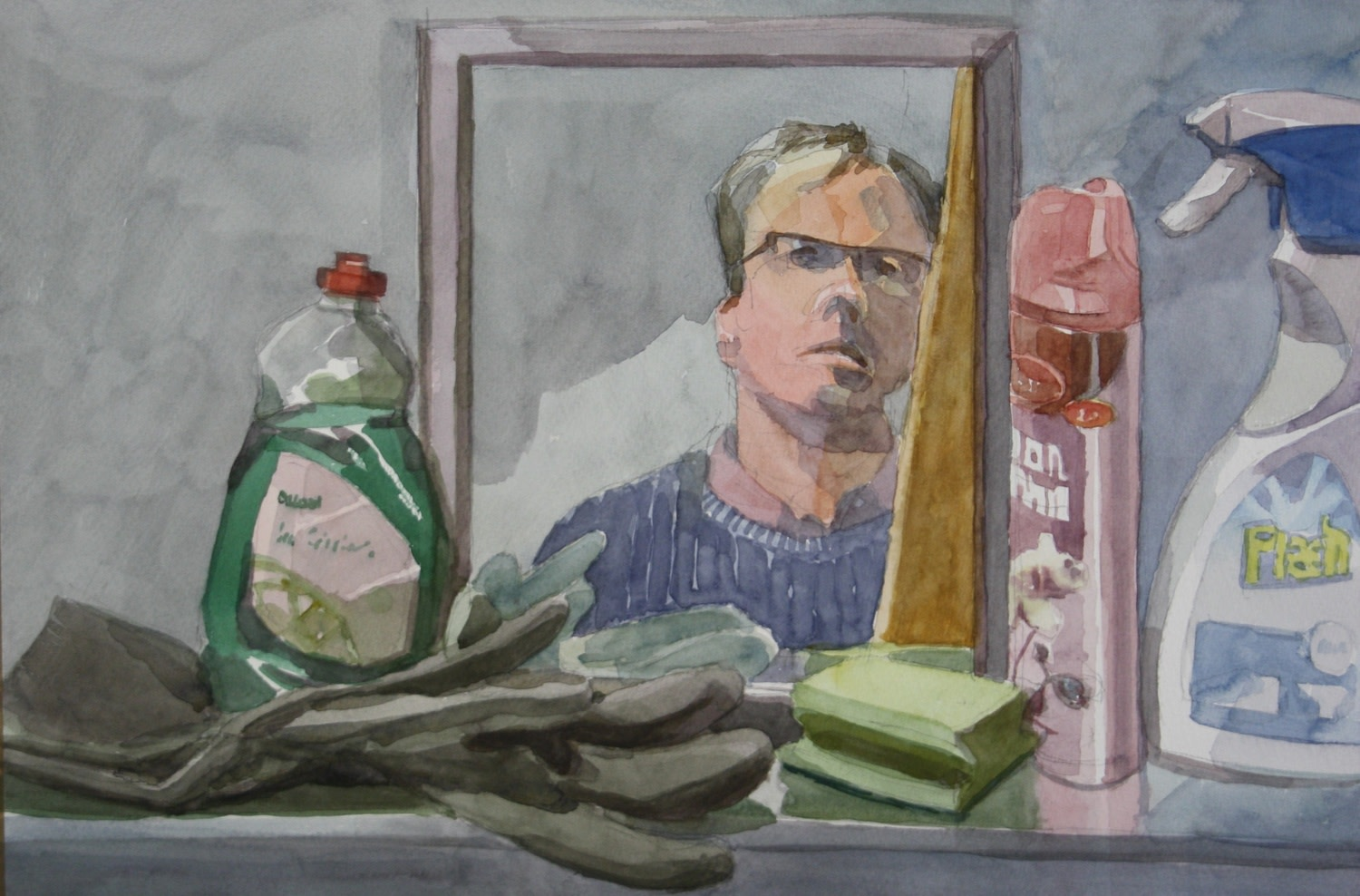 <span class=&#34;link fancybox-details-link&#34;><a href=&#34;/exhibitions/25/works/image_standalone495/&#34;>View Detail Page</a></span><p>Sebastian Aplin</p><p>Self Portrait with Cleaning Products</p><p>&nbsp;</p><p>Winner of the Jackson's Young Artist Prize</p>