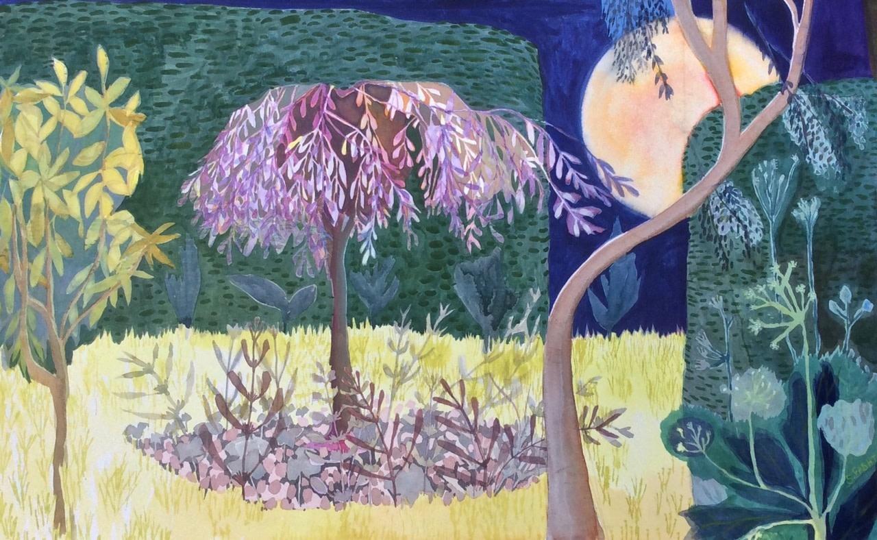 <span class=&#34;link fancybox-details-link&#34;><a href=&#34;/exhibitions/25/works/image_standalone534/&#34;>View Detail Page</a></span><p>Suzy Fasht</p><p><em>The Harvest Moon has Come</em></p>