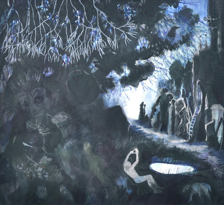 "<span class=""link fancybox-details-link""><a href=""/exhibitions/36/works/image_standalone4822/"">View Detail Page</a></span><p>Rebecca Bergese</p><p><em>Night Garden</em></p><p>watercolour & pencil</p><p>£700</p>"