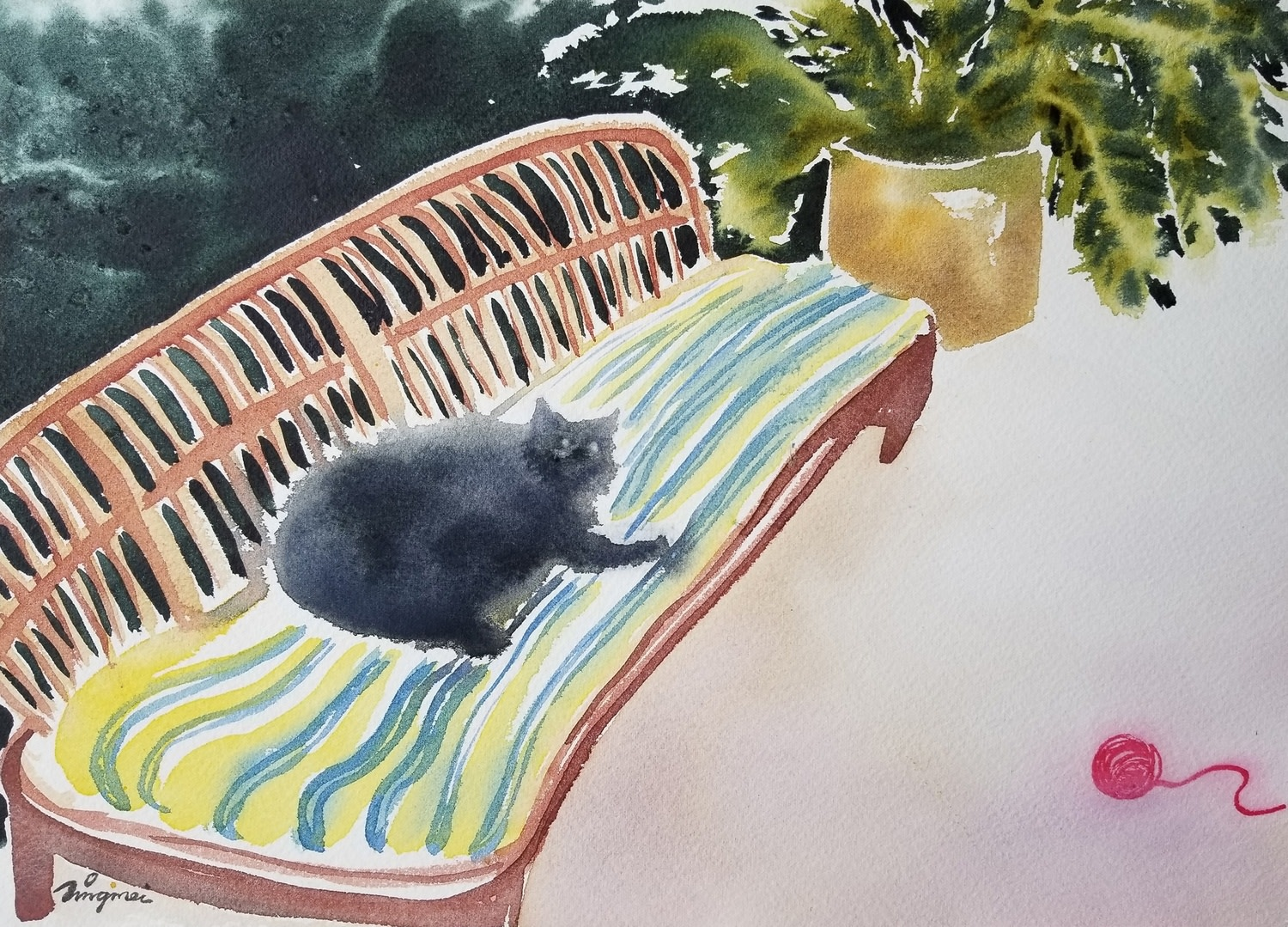 """<span class=""""link fancybox-details-link""""><a href=""""/exhibitions/36/works/image_standalone4834/"""">View Detail Page</a></span><p>Tingmei Cheung</p><p><em>It's Sunday</em></p><p>watercolour</p><p>£1000</p><p></p><p>Judge's Choice</p><p>Selected by Tim Sayer</p><p>Journalist & Art Collector</p><p></p><p>Judge's Choice</p><p>Selected by Jill Leman PRWS</p><p>RWS Artist & President</p>"""