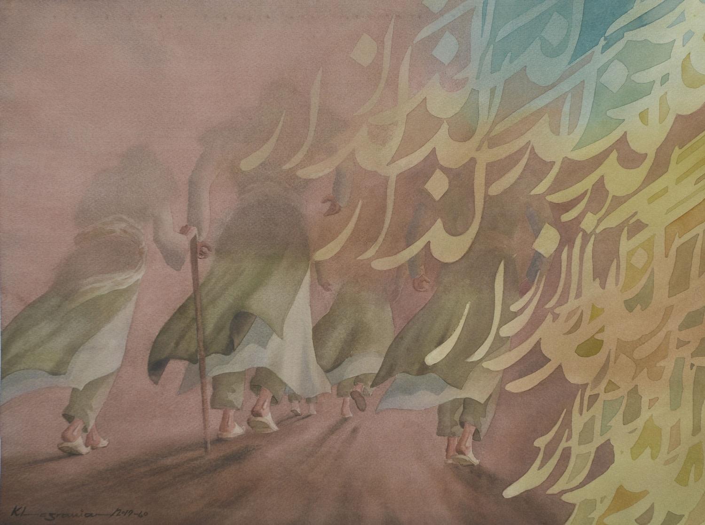 """<span class=""""link fancybox-details-link""""><a href=""""/exhibitions/36/works/image_standalone4861/"""">View Detail Page</a></span><p>Mehdi Khosravian</p><p><em>Transition</em></p><p>watercolour</p><p>£400</p>"""