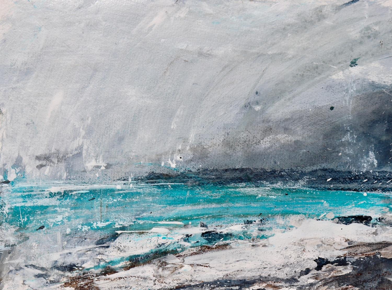 "<span class=""link fancybox-details-link""><a href=""/exhibitions/36/works/image_standalone4873/"">View Detail Page</a></span><p>Susie Monnington</p><p><em>Uist Echoes</em></p><p>acrylic, ink, watercolour & hebridean sand</p><p>£650</p><p></p><p>Judge's Choice</p><p>Selected by Jim Hunter VPRWS</p><p>RWS Artist & Junior Vice President</p>"