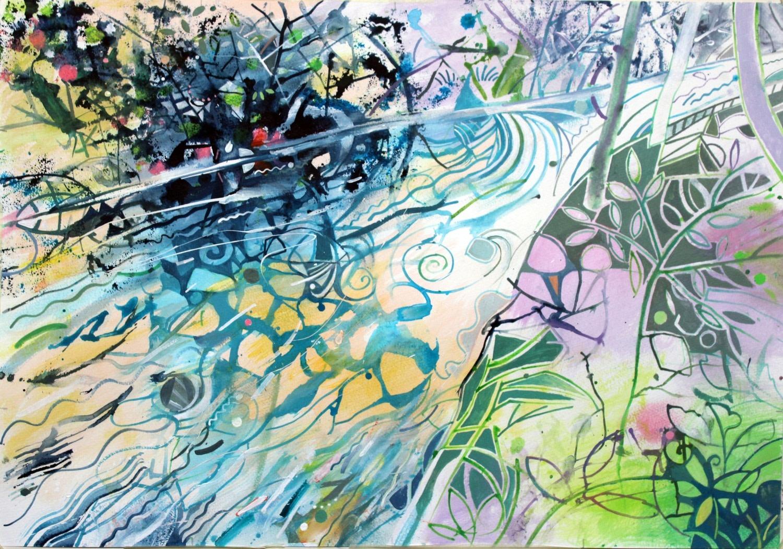 """<span class=""""link fancybox-details-link""""><a href=""""/exhibitions/36/works/image_standalone4907/"""">View Detail Page</a></span><p>David Wiseman</p><p><em>Rocky River, Gorpley Clough, Todmorden</em></p><p>acrylic</p><p>£850</p>"""