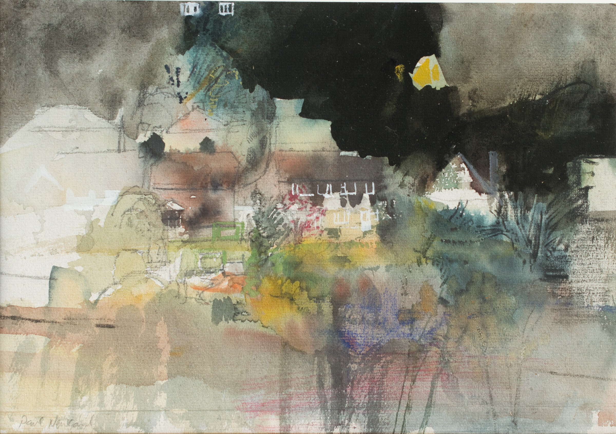 <span class=&#34;link fancybox-details-link&#34;><a href=&#34;/artists/87-paul-newland/works/10043-paul-newland-the-line-into-town-dusk/&#34;>View Detail Page</a></span><div class=&#34;artist&#34;><span class=&#34;artist&#34;><strong>Paul Newland</strong></span></div><div class=&#34;title&#34;><em> The Line into Town - Dusk</em></div><div class=&#34;medium&#34;>watercolour</div><div class=&#34;price&#34;>£350.00</div>