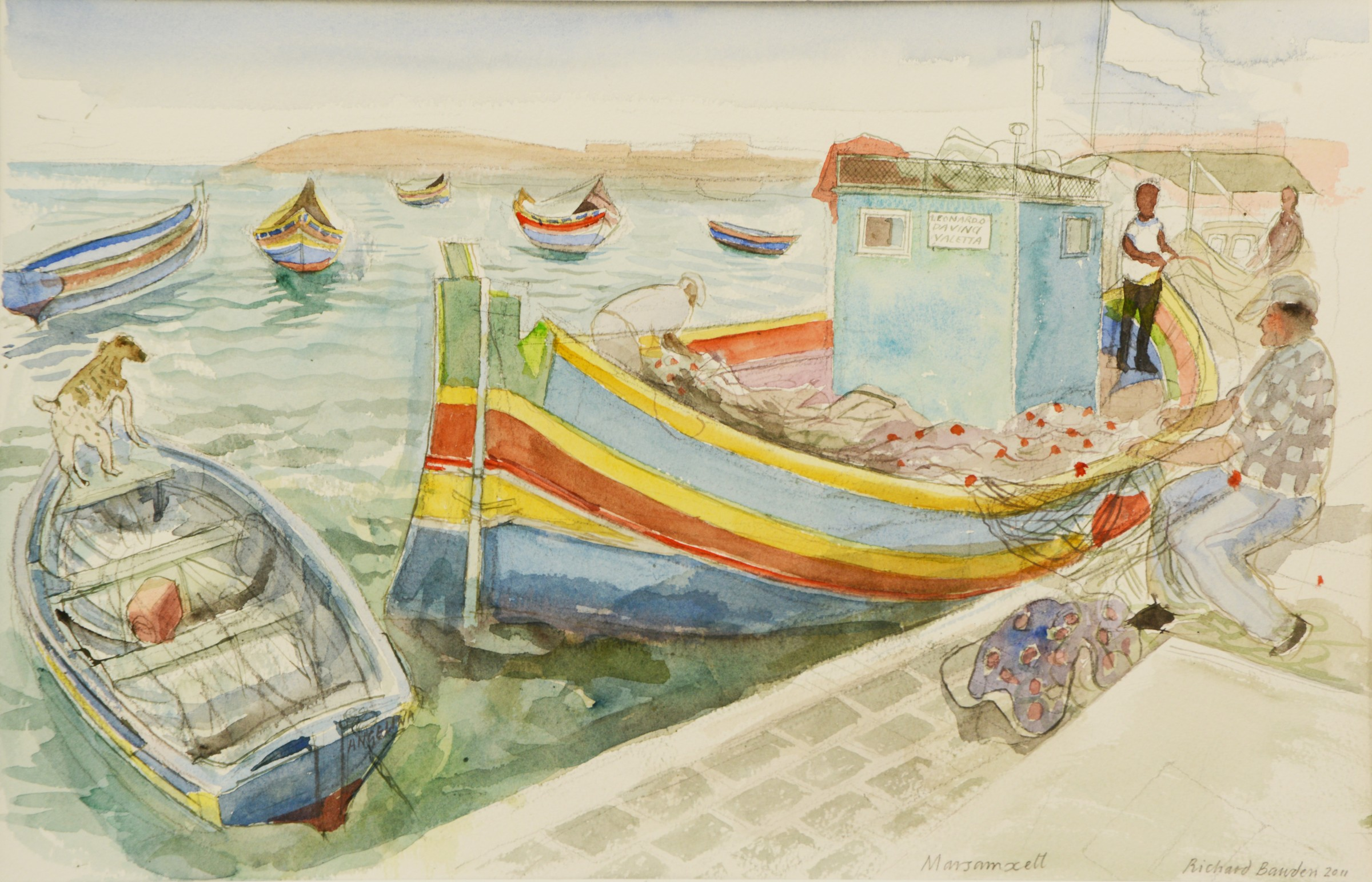 <span class=&#34;link fancybox-details-link&#34;><a href=&#34;/artists/38-richard-bawden/works/9466-richard-bawden-fishing-boats-at-marsaxlokk/&#34;>View Detail Page</a></span><div class=&#34;artist&#34;><span class=&#34;artist&#34;><strong>Richard Bawden</strong></span></div>