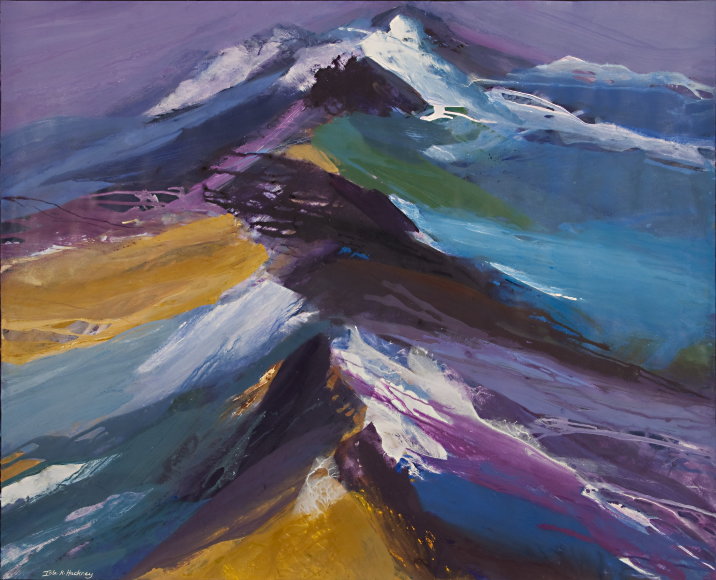 "<span class=""link fancybox-details-link""><a href=""/artists/65-isla-hackney/works/9499-isla-hackney-mountain-ridge/"">View Detail Page</a></span><div class=""artist""><span class=""artist""><strong>Isla Hackney</strong></span></div><div class=""title""><em>Mountain Ridge</em></div><div class=""medium"">acrylic</div><div class=""price"">£6,000.00</div>"