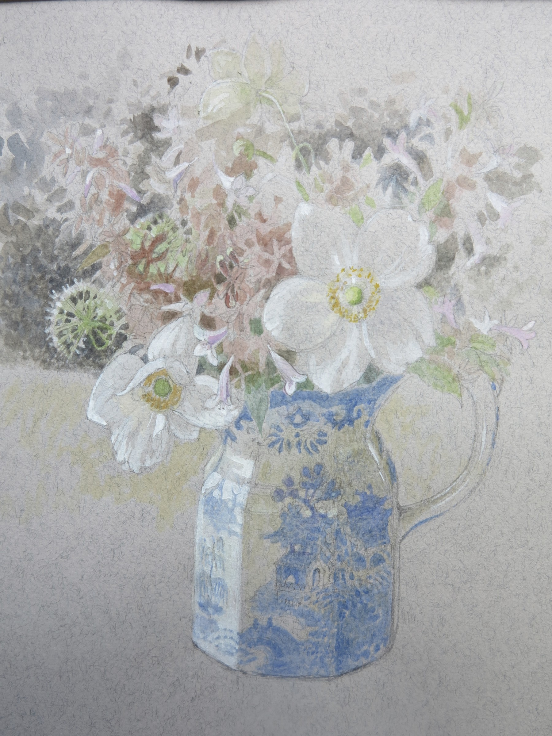 """<span class=""""link fancybox-details-link""""><a href=""""/artists/66-charlotte-halliday/works/9508-charlotte-halliday-august-flowers-from-st.-magnus/"""">View Detail Page</a></span><div class=""""artist""""><span class=""""artist""""><strong>Charlotte Halliday</strong></span></div><div class=""""title""""><em>August Flowers from St. Magnus</em></div><div class=""""medium"""">watercolour & pencil</div><div class=""""price"""">£475.00</div>"""