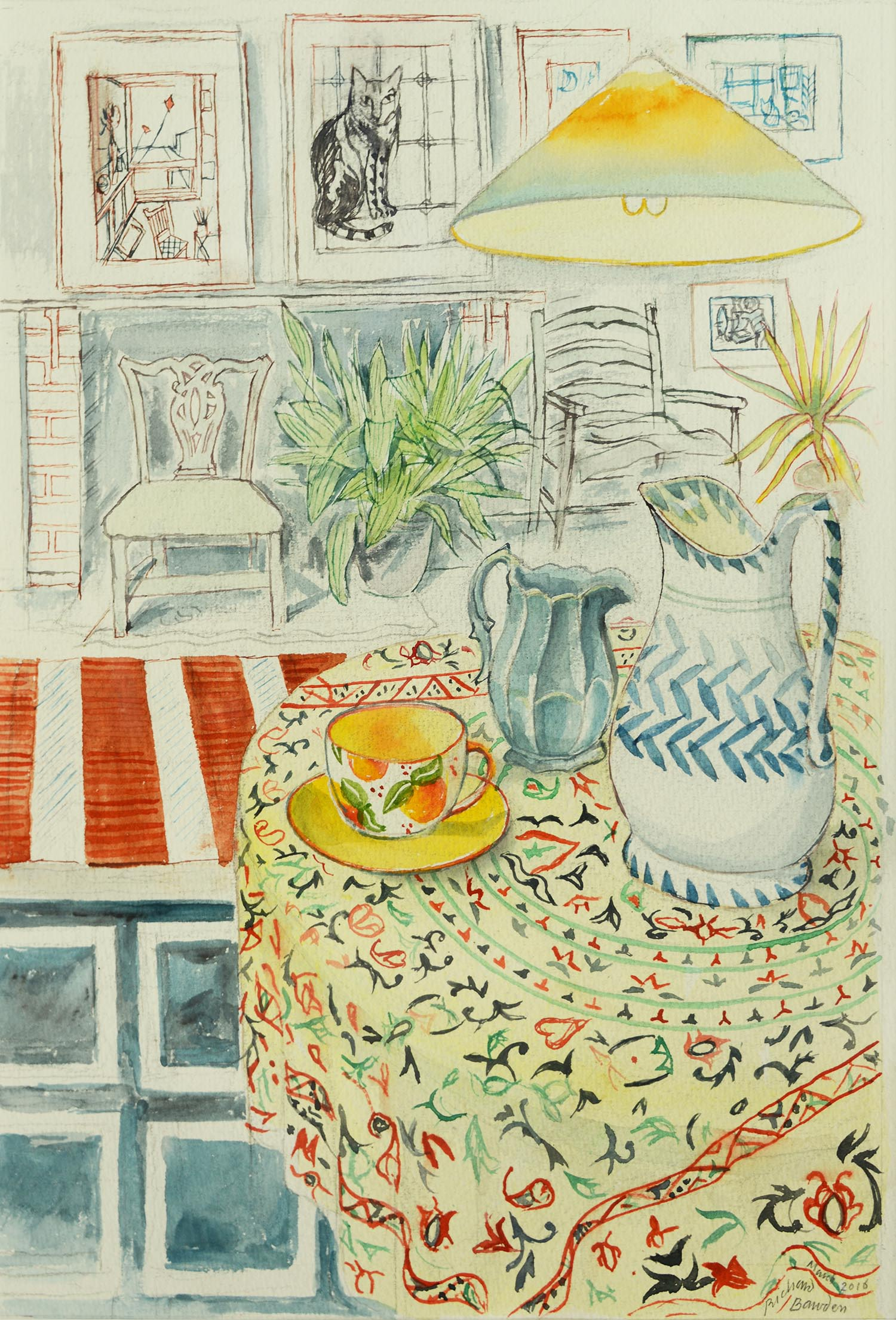 <span class=&#34;link fancybox-details-link&#34;><a href=&#34;/exhibitions/12/works/artworks_standalone9804/&#34;>View Detail Page</a></span><div class=&#34;artist&#34;><span class=&#34;artist&#34;><strong>Richard Bawden</strong></span></div><div class=&#34;title&#34;><em>A Bright Day</em></div><div class=&#34;medium&#34;>watercolour</div>