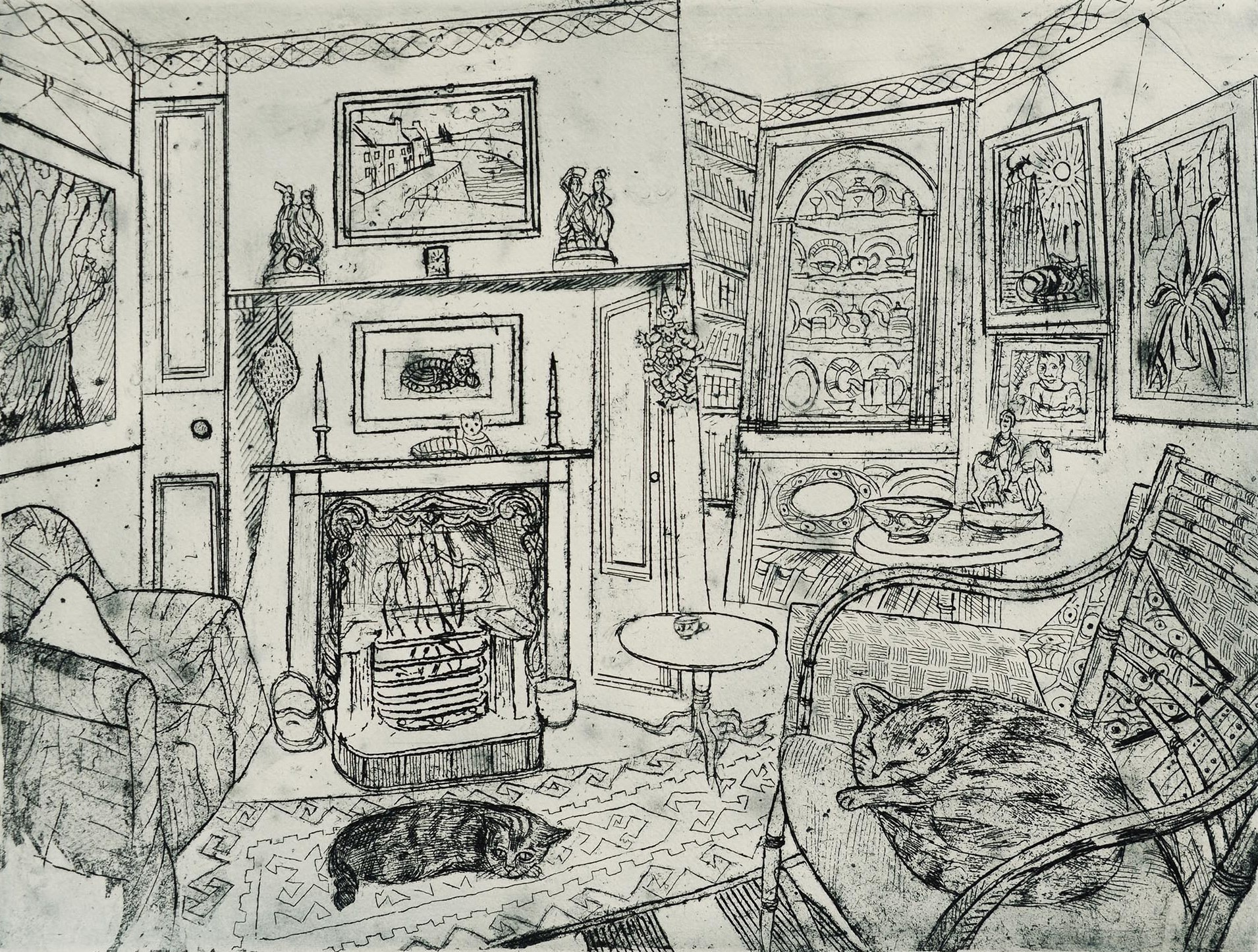 <span class=&#34;link fancybox-details-link&#34;><a href=&#34;/exhibitions/12/works/artworks_standalone9805/&#34;>View Detail Page</a></span><div class=&#34;artist&#34;><span class=&#34;artist&#34;><strong>Richard Bawden</strong></span></div><div class=&#34;title&#34;><em>Two Sisters Asleep</em></div><div class=&#34;medium&#34;>pen & ink</div>