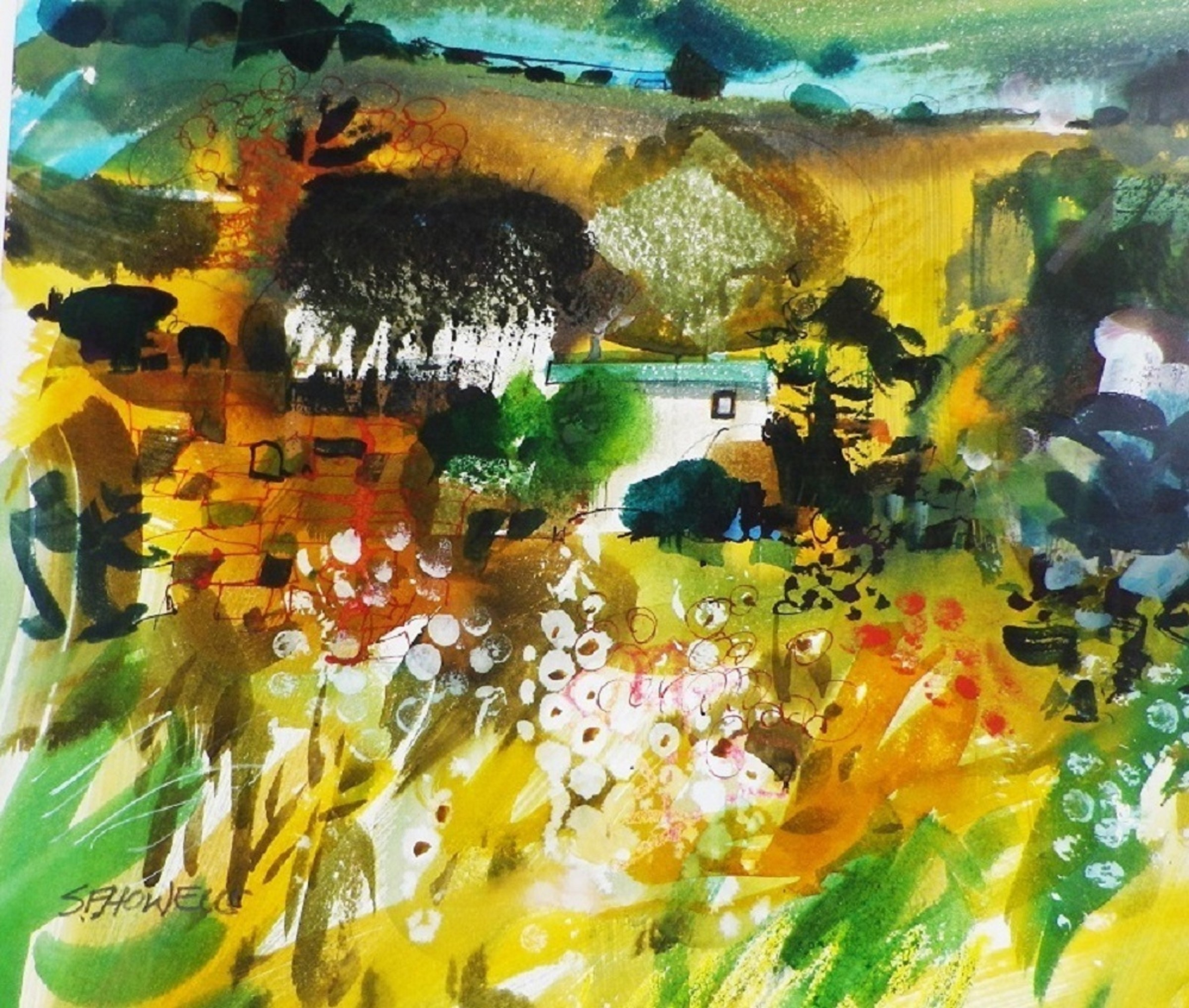 Sue Howells, Summer Solstice | Off the Wall | Royal Watercolour Society