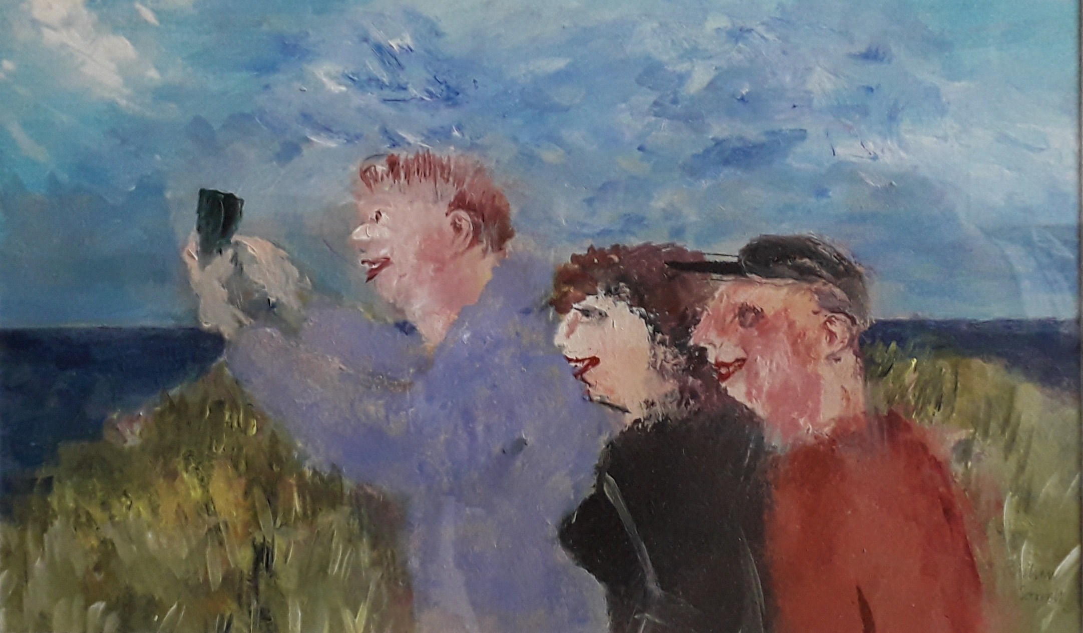 "<span class=""link fancybox-details-link""><a href=""/artists/103-richard-sorrell/works/12316-richard-sorrell-a-selfie-on-the-coastal-path/"">View Detail Page</a></span><div class=""artist""><span class=""artist""><strong>Richard Sorrell</strong></span></div><div class=""title""><em>A Selfie on the Coastal Path</em></div><div class=""medium"">acrylic</div><div class=""dimensions"">Frame: 47 x 60 cm<br /> Artwork: 27 x 44 cm</div><div class=""price"">£750.00</div>"