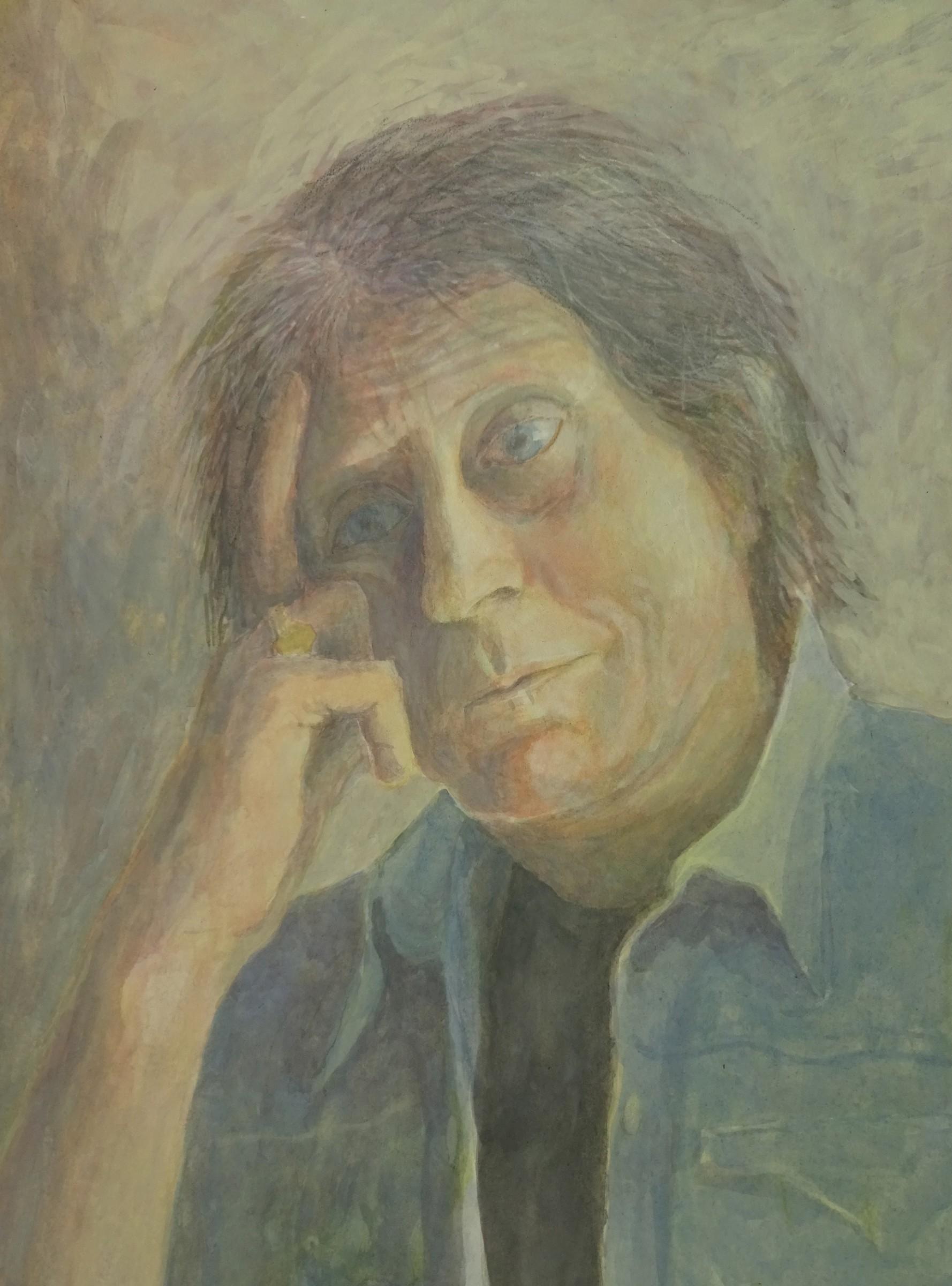 "<span class=""link fancybox-details-link""><a href=""/artists/70-sarah-holliday/works/12064-sarah-holliday-pw/"">View Detail Page</a></span><div class=""artist""><span class=""artist""><strong>Sarah Holliday</strong></span></div><div class=""title""><em>PW</em></div><div class=""medium"">watercolour & gouache</div><div class=""dimensions"">Frame: 50 x 40 cm<br /> Artwork: 34 x 24 cm</div>"