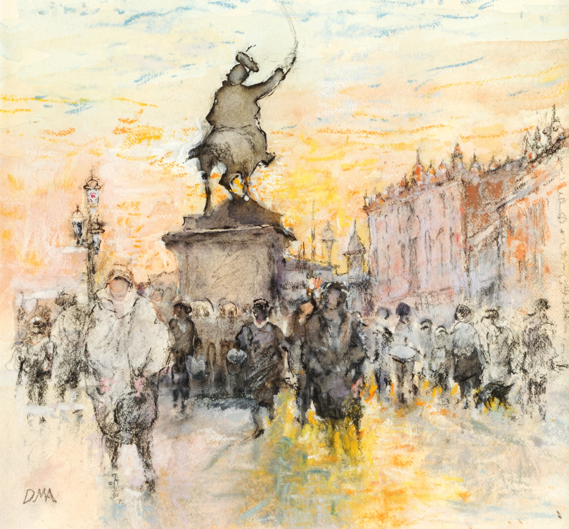 """<span class=""""link fancybox-details-link""""><a href=""""/artists/116-diana-armfield-ra/works/12385-diana-armfield-ra-golden-light-on-the-riva-venice/"""">View Detail Page</a></span><div class=""""artist""""><span class=""""artist""""><strong>Diana Armfield RA</strong></span></div><div class=""""title""""><em>Golden Light on the Riva, Venice</em></div><div class=""""medium"""">watercolour</div><div class=""""price"""">£1,500.00</div>"""