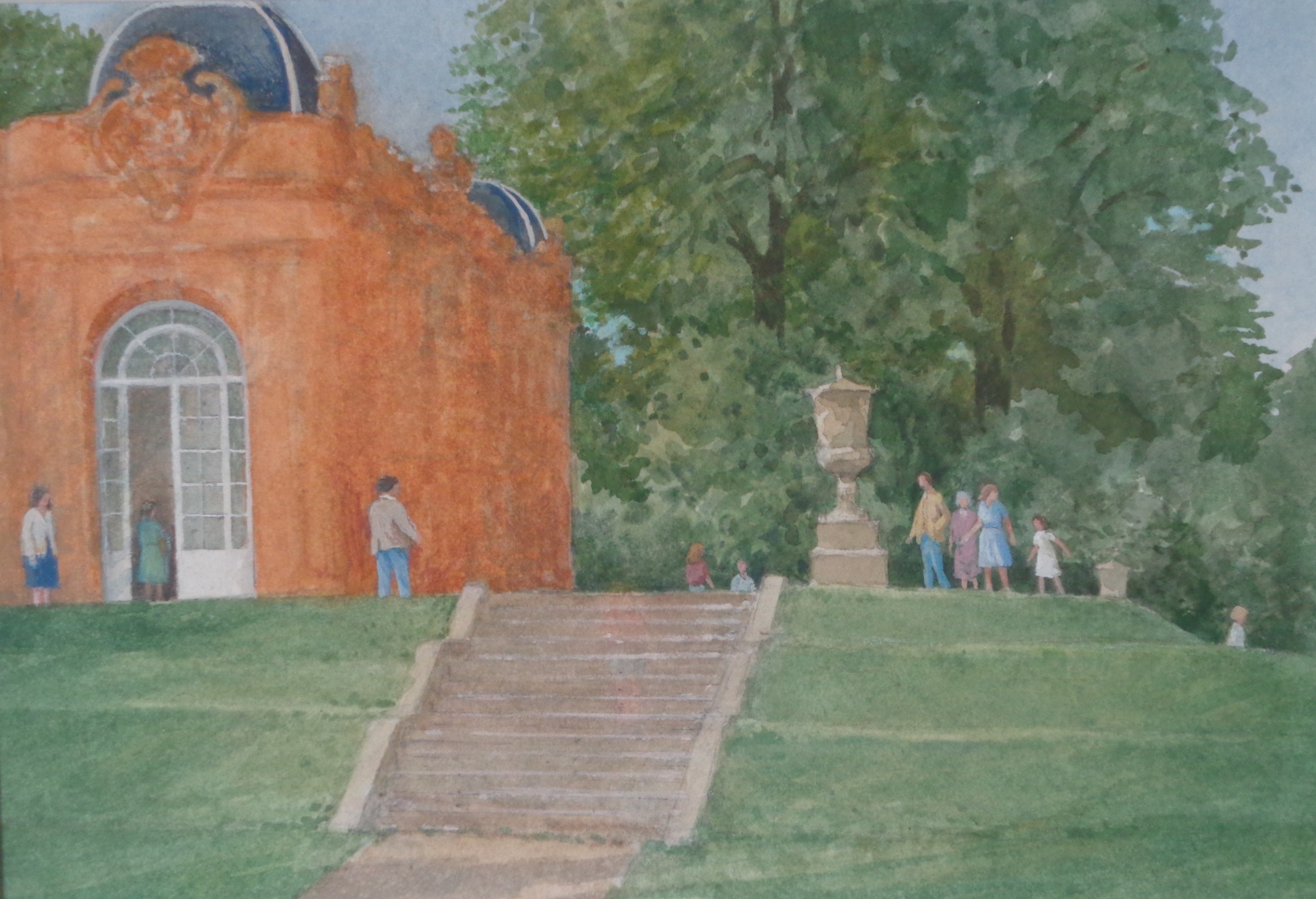 """<span class=""""link fancybox-details-link""""><a href=""""/artists/90-david-payne/works/11330-david-payne-to-the-orangery-wrest-park/"""">View Detail Page</a></span><div class=""""artist""""><span class=""""artist""""><strong>David Payne</strong></span></div><div class=""""title""""><em>To the Orangery - Wrest Park</em></div><div class=""""medium"""">watercolour</div><div class=""""dimensions"""">35x42cm</div><div class=""""price"""">£425.00</div>"""