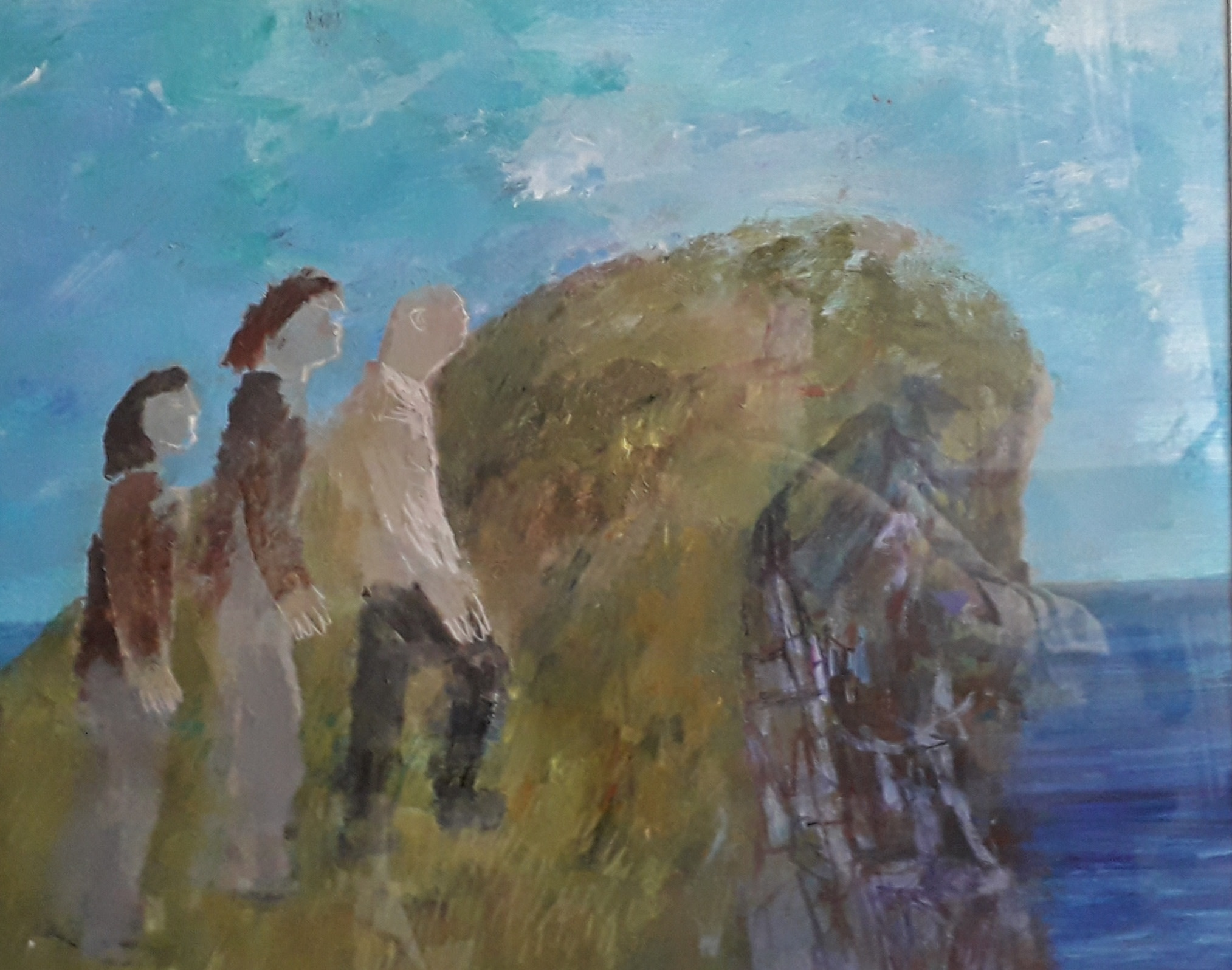 """<span class=""""link fancybox-details-link""""><a href=""""/artists/103-richard-sorrell/works/12318-richard-sorrell-three-people-climbing-a-cliff/"""">View Detail Page</a></span><div class=""""artist""""><span class=""""artist""""><strong>Richard Sorrell</strong></span></div><div class=""""title""""><em>Three People Climbing a Cliff</em></div><div class=""""medium"""">acrylic</div><div class=""""dimensions"""">Frame: 52 x 60 cm<br /> Artwork: 36 x 44 cm</div><div class=""""price"""">£850.00</div>"""
