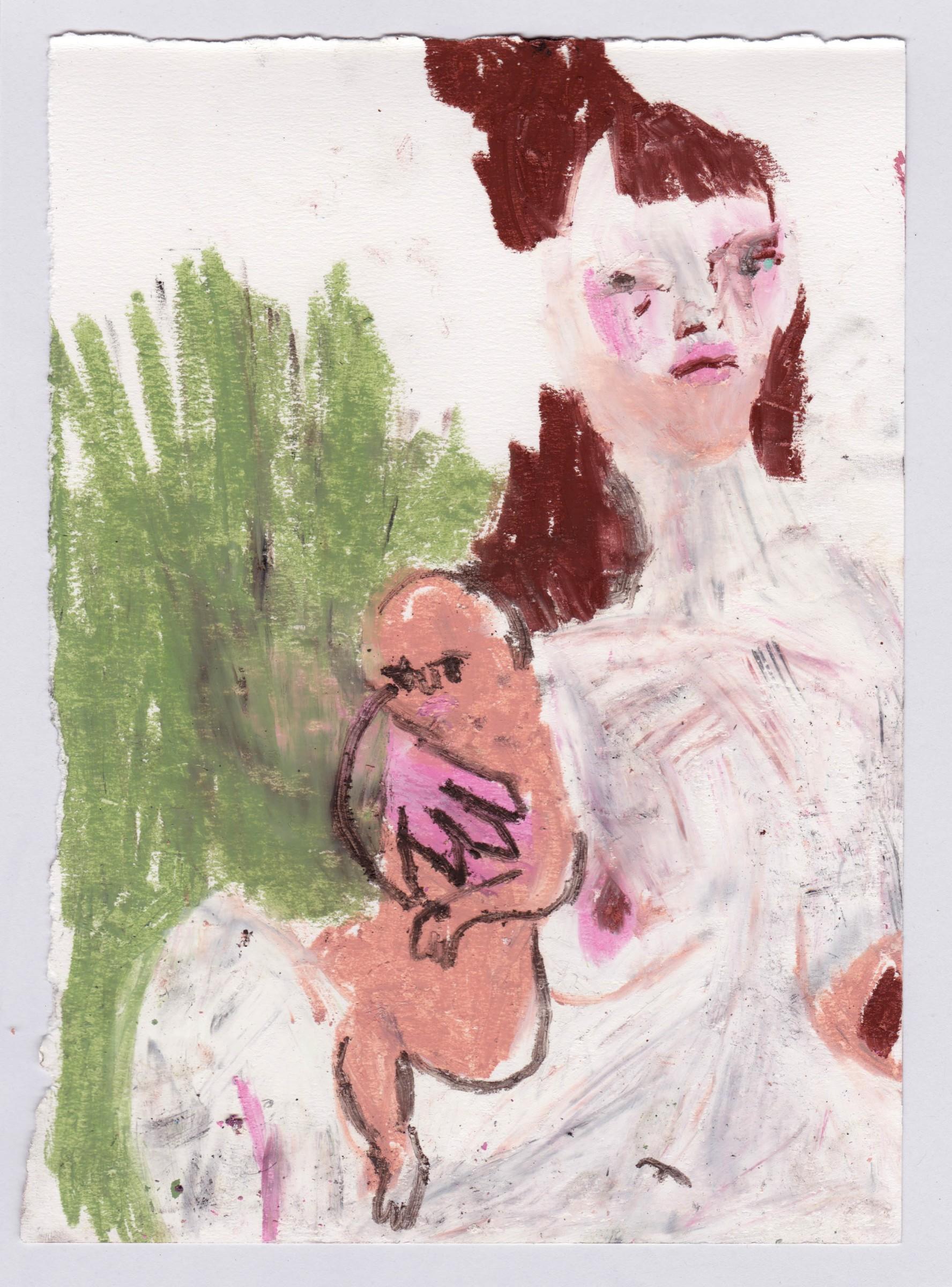 "<span class=""link fancybox-details-link""><a href=""/exhibitions/39/works/artworks_standalone12359/"">View Detail Page</a></span><div class=""medium"">oil pastel</div><div class=""dimensions"">Artwork: 25.5 x 18cm</div>"