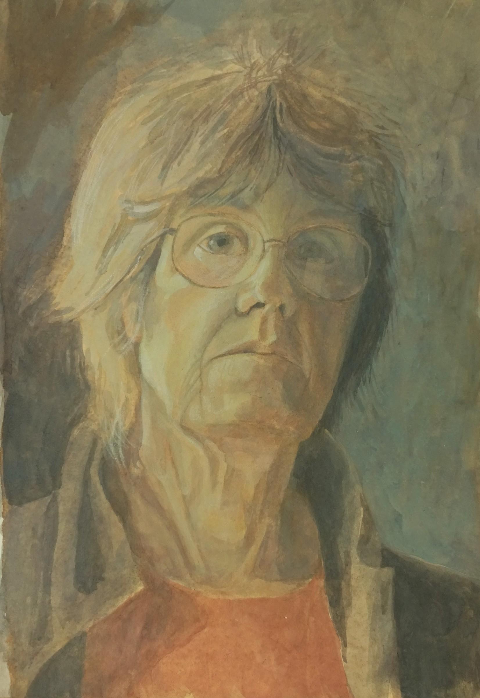 "<span class=""link fancybox-details-link""><a href=""/artists/70-sarah-holliday/works/12065-sarah-holliday-self-portrait/"">View Detail Page</a></span><div class=""artist""><span class=""artist""><strong>Sarah Holliday</strong></span></div><div class=""title""><em>Self Portrait</em></div><div class=""medium"">watercolour & gouache</div><div class=""dimensions"">Frame: 50 x 40 cm<br /> Artwork: 34 x 24 cm</div>"