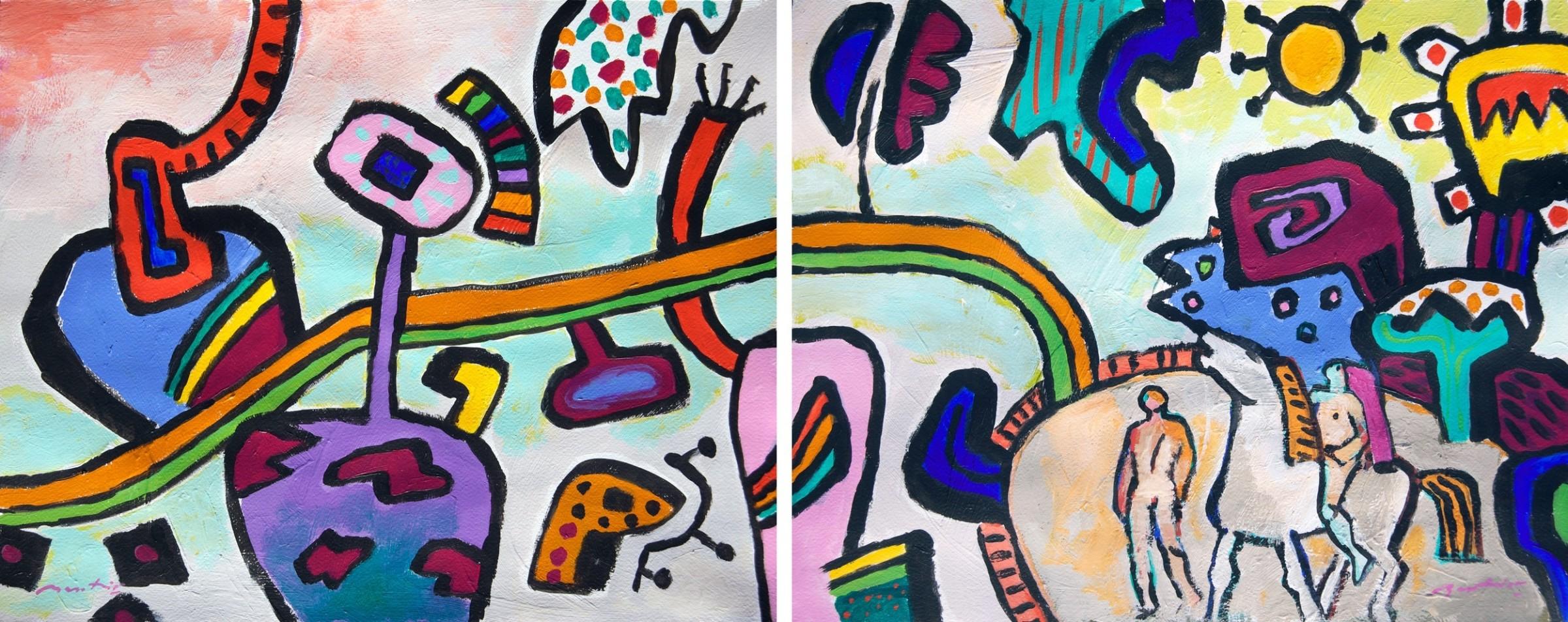 <span class=&#34;link fancybox-details-link&#34;><a href=&#34;/exhibitions/24/works/artworks_standalone10684/&#34;>View Detail Page</a></span><div class=&#34;artist&#34;><span class=&#34;artist&#34;><strong>Gerry Baptist</strong></span></div><div class=&#34;title&#34;><em>No Matter How Long It Takes</em></div><div class=&#34;medium&#34;>acrylic</div><div class=&#34;dimensions&#34;>Diptych 44 x 108cm</div>
