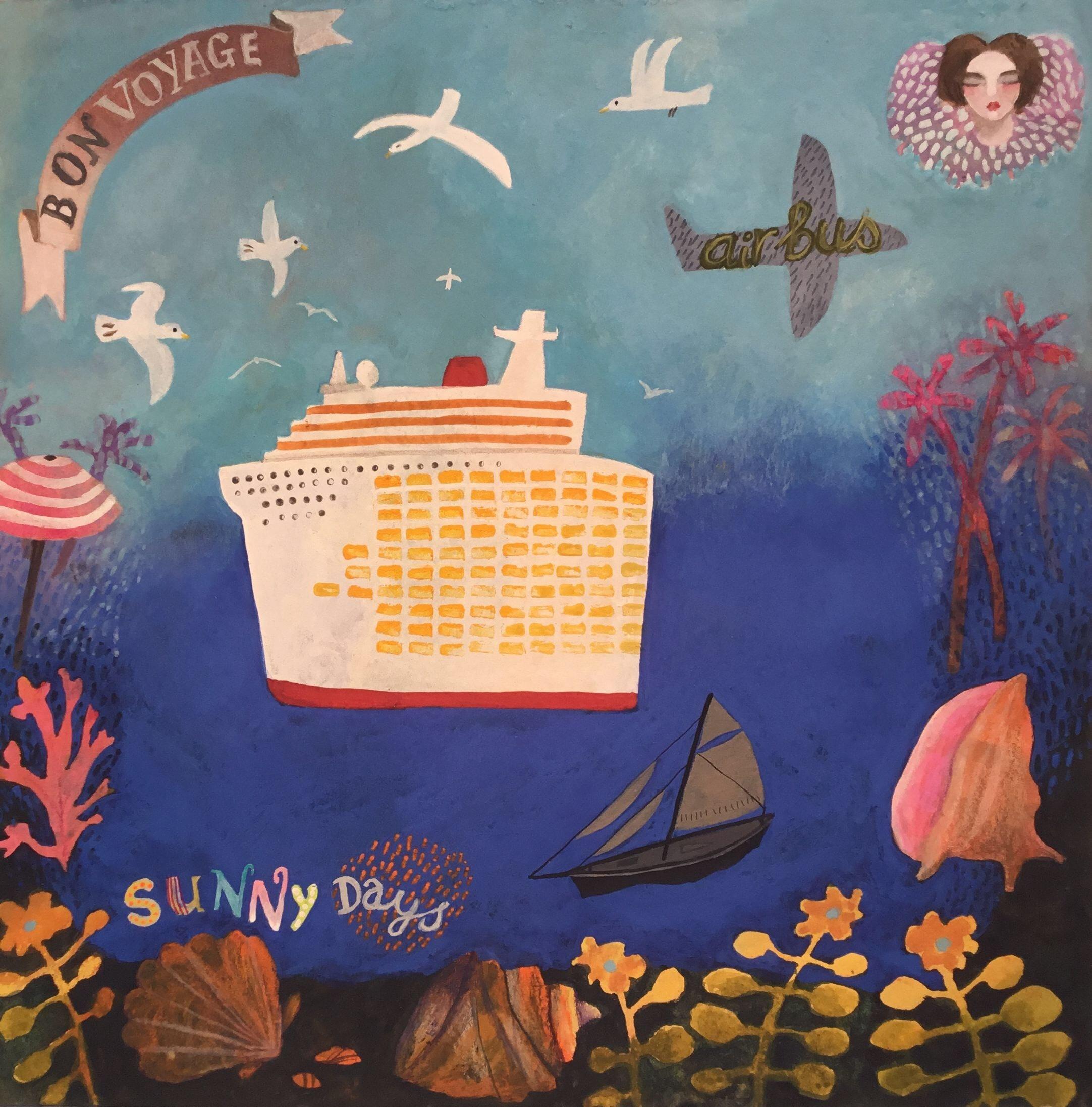 "<span class=""link fancybox-details-link""><a href=""/artists/146-gertie-young/works/11873-gertie-young-bon-voyage/"">View Detail Page</a></span><div class=""artist""><span class=""artist""><strong>Gertie Young</strong></span></div><div class=""title""><em>Bon Voyage</em></div><div class=""medium"">watercolour & gouache collage</div><div class=""dimensions"">Frame: 32 x 26 cm<br /> Artwork: 21 x 15 cm<br /> </div><div class=""price"">£370.00</div>"