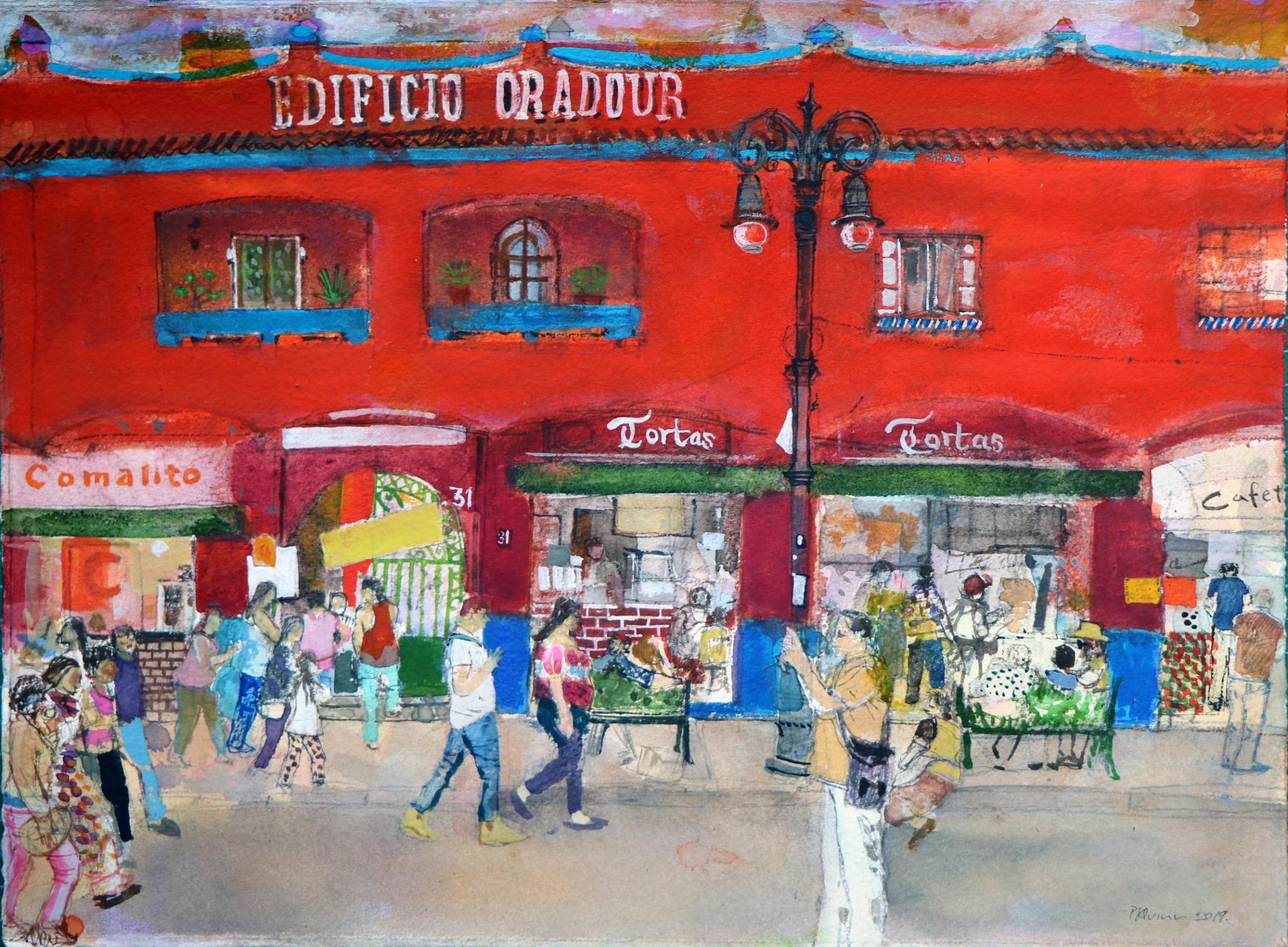 "<span class=""link fancybox-details-link""><a href=""/artists/96-peter-quinn/works/12150-peter-quinn-edificio-oradour-coyoacan-mexico-city/"">View Detail Page</a></span><div class=""artist""><span class=""artist""><strong>Peter Quinn</strong></span></div><div class=""title""><em>Edificio Oradour, Coyoacán, Mexico City</em></div><div class=""medium"">watercolour</div><div class=""dimensions"">Frame: 50 x 58 cm<br /> Artwork: 28 x 38 cm</div><div class=""price"">£510.00</div>"