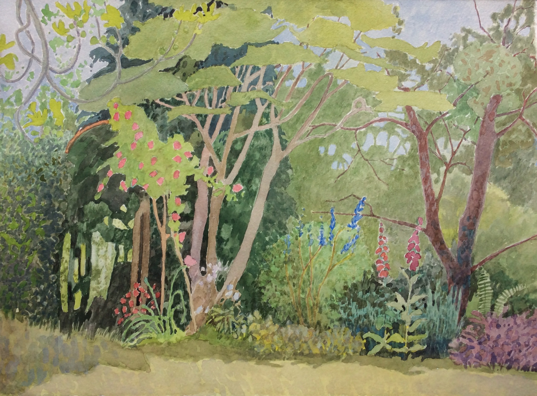 "<span class=""link fancybox-details-link""><a href=""/artists/109-annie-williams/works/12616-annie-williams-lockdown-garden/"">View Detail Page</a></span><div class=""artist""><span class=""artist""><strong>Annie Williams</strong></span></div><div class=""title""><em>Lockdown Garden</em></div><div class=""medium"">watercolour</div><div class=""dimensions"">Artwork: 37 x 27cm</div><div class=""price"">£400.00</div>"