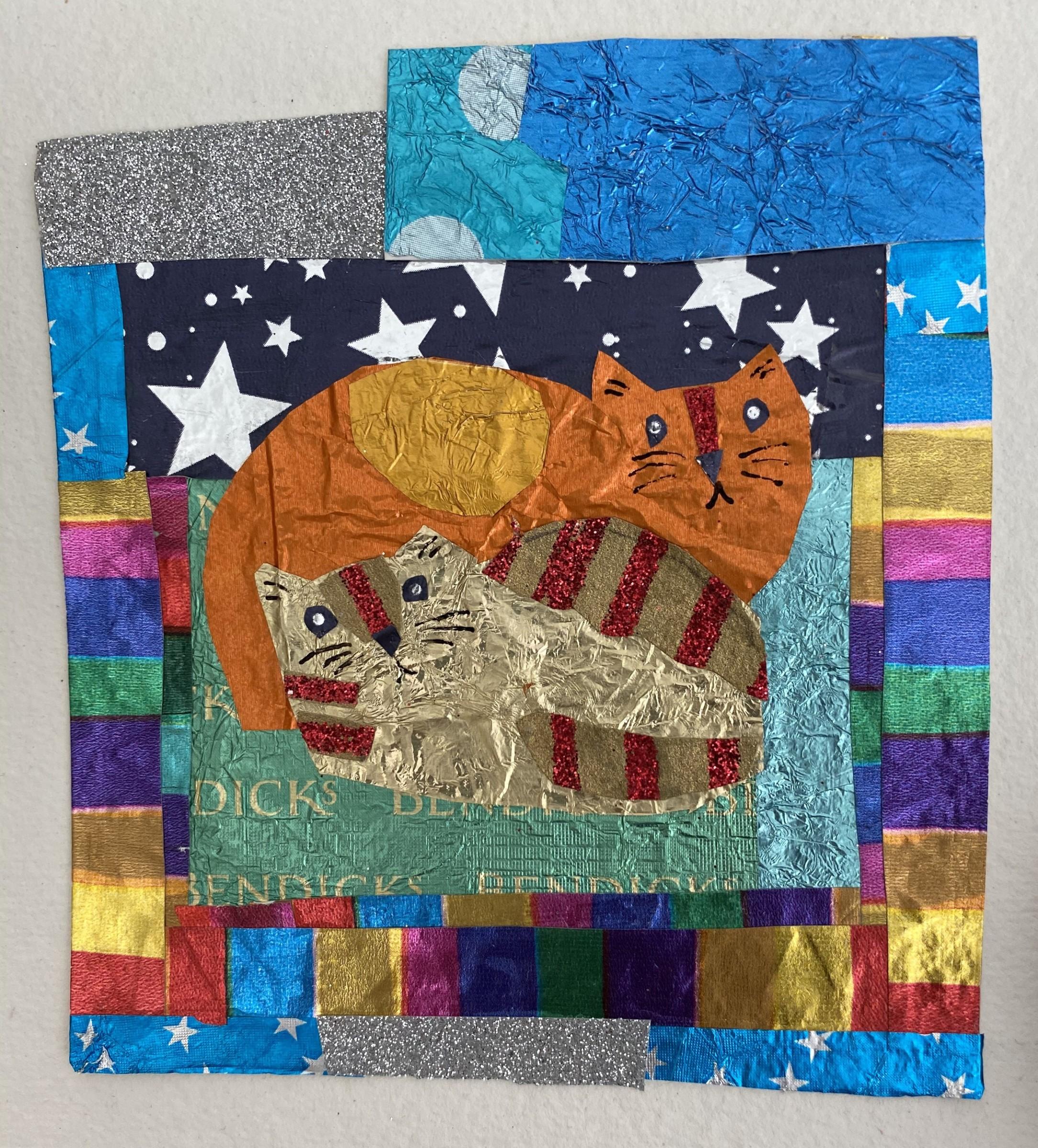 "<span class=""link fancybox-details-link""><a href=""/artists/30-jill-leman/works/12399-jill-leman-little-cats/"">View Detail Page</a></span><div class=""artist""><span class=""artist""><strong>Jill Leman</strong></span></div><div class=""title""><em>Little Cats</em></div><div class=""medium"">collage of assorted wrapping paper</div><div class=""dimensions"">Frame: 31 x 31 cm<br /> Artwork: 13 x 13 cm</div><div class=""price"">£350.00</div>"