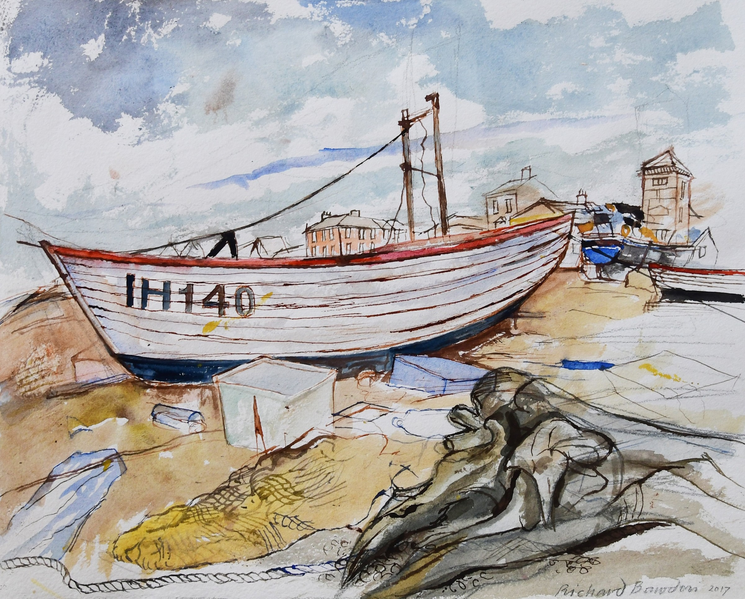 <span class=&#34;link fancybox-details-link&#34;><a href=&#34;/artists/38-richard-bawden/works/10513-richard-bawden-aldeburgh-beach-and-washed-up-log/&#34;>View Detail Page</a></span><div class=&#34;artist&#34;><span class=&#34;artist&#34;><strong>Richard Bawden</strong></span></div>