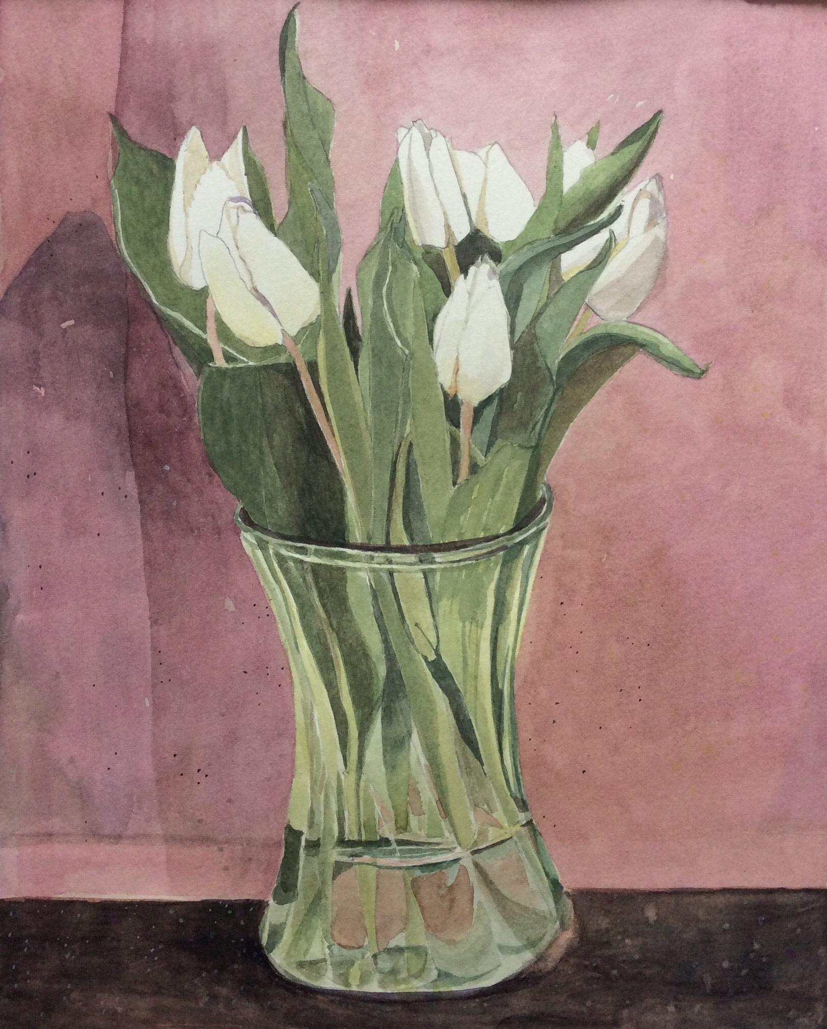 "<span class=""link fancybox-details-link""><a href=""/artists/168-suzy-fasht/works/12049-suzy-fasht-white-tulips/"">View Detail Page</a></span><div class=""artist""><span class=""artist""><strong>Suzy Fasht</strong></span></div><div class=""title""><em>White Tulips</em></div><div class=""medium"">watercolour</div><div class=""dimensions"">Frame: 32 x 26 cm<br /> Artwork: 44 x 38 cm</div><div class=""price"">£450.00</div>"