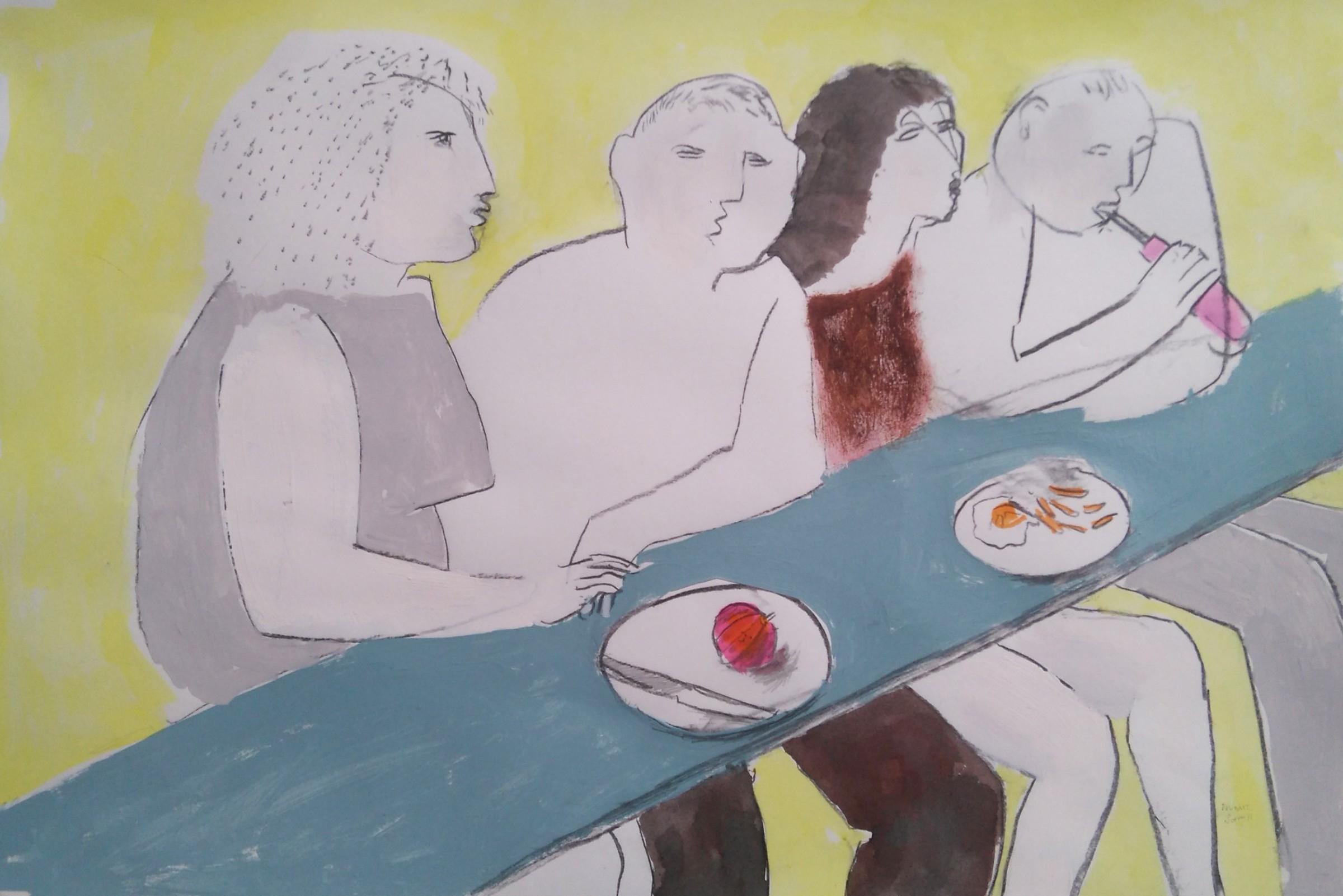 <span class=&#34;link fancybox-details-link&#34;><a href=&#34;/exhibitions/24/works/artworks_standalone10803/&#34;>View Detail Page</a></span><div class=&#34;artist&#34;><span class=&#34;artist&#34;><strong>Richard Sorrell</strong></span></div><div class=&#34;title&#34;><em>Lunch Bar</em></div><div class=&#34;medium&#34;>watercolour & charcoal</div>