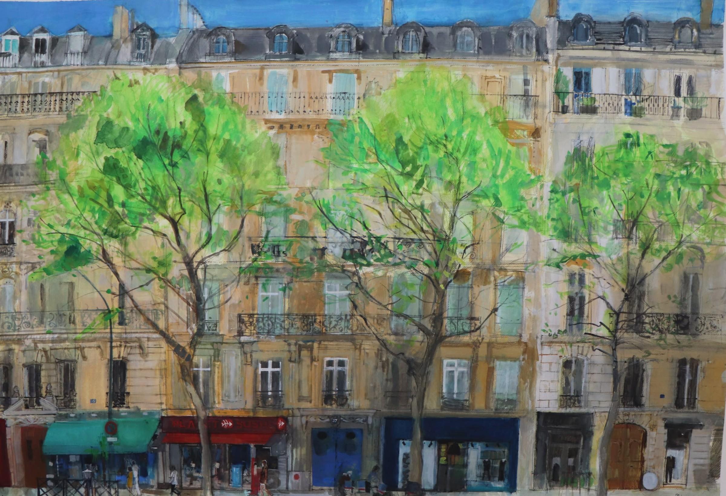 "<span class=""link fancybox-details-link""><a href=""/artists/96-peter-quinn/works/12657-peter-quinn-boulevard-paris/"">View Detail Page</a></span><div class=""artist""><span class=""artist""><strong>Peter Quinn</strong></span></div><div class=""title""><em>Boulevard, Paris</em></div><div class=""medium"">watercolour on paper</div><div class=""dimensions"">Artwork: 115 x 80cm</div><div class=""price"">£1,750.00</div>"