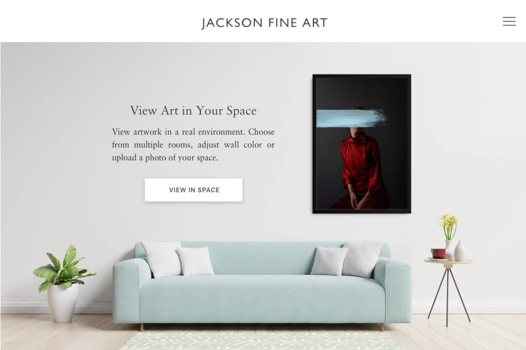 View Art in Your Space, Check out our new app