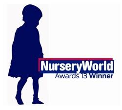 Nursery World Awards 2013 winner logo