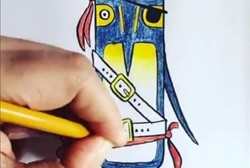 How to draw a pirate penguin (you know you want to)